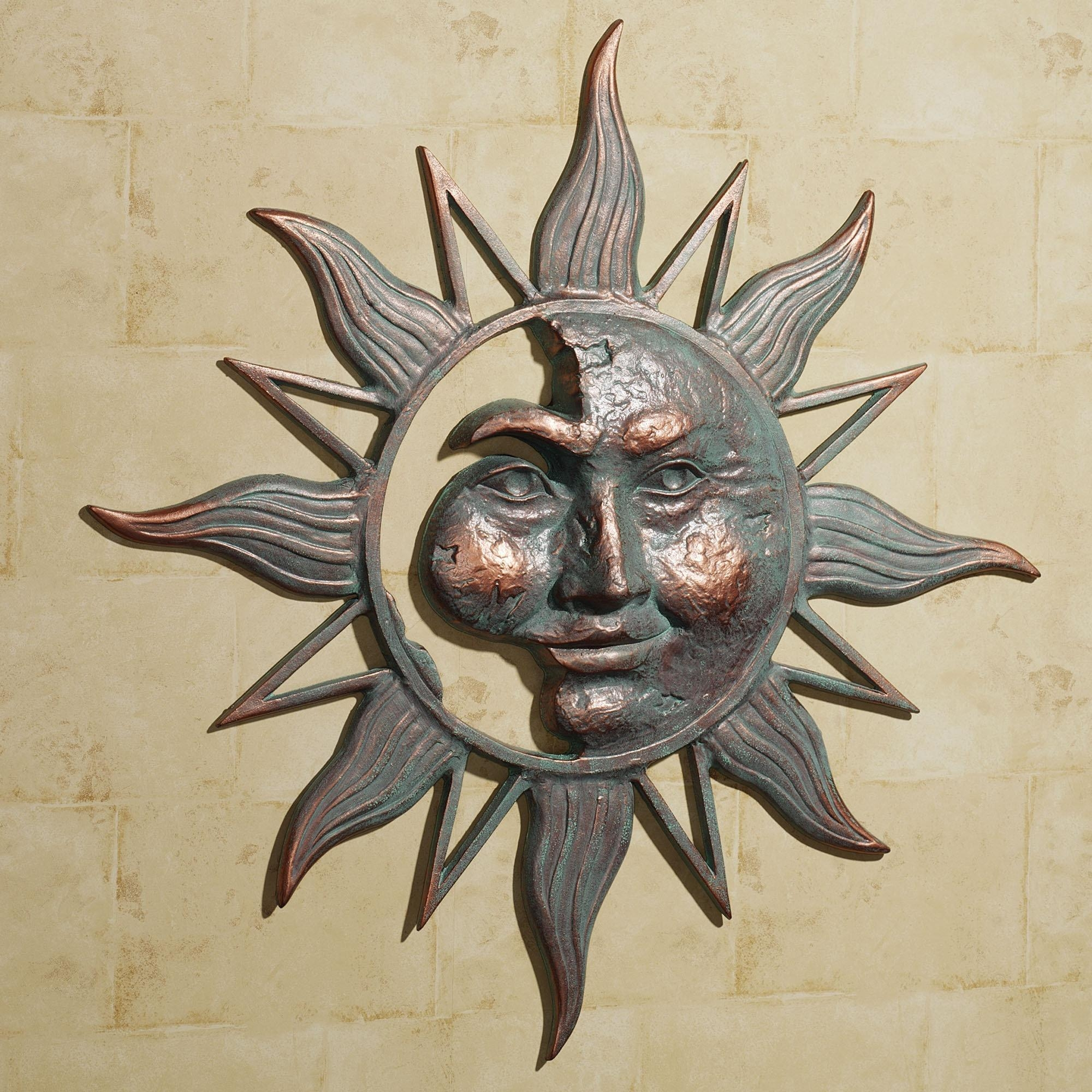 Wall Art Ideas Design : White Sun Wall Art Metal Shadow Stainless In Stainless Steel Outdoor Wall Art (Image 15 of 20)