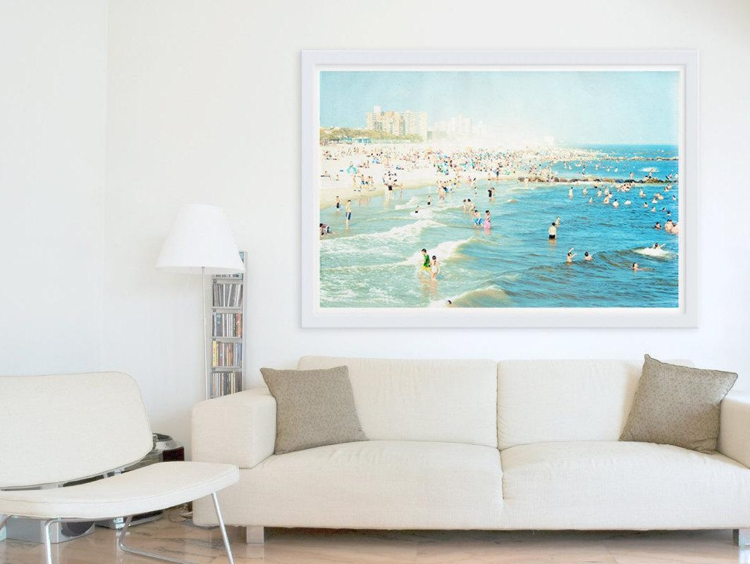Wall Art: Interesting Framed Beach Art Nautical Wall Art, Beach For Beach Wall Art (Image 20 of 20)