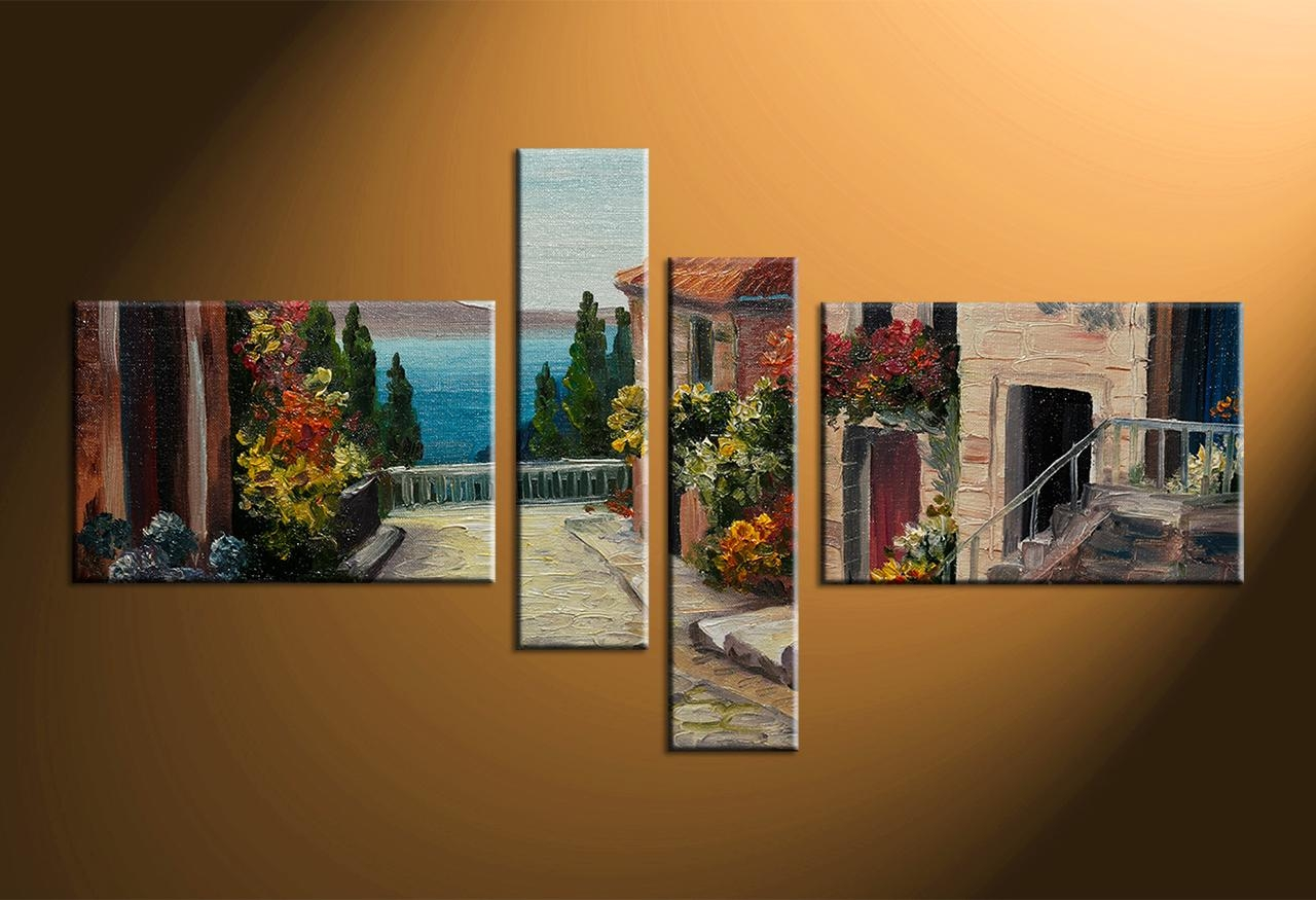 Wall Art: Interesting Multiple Canvas Wall Art Multi Panel Canvas Inside Multiple Canvas Wall Art (View 2 of 20)