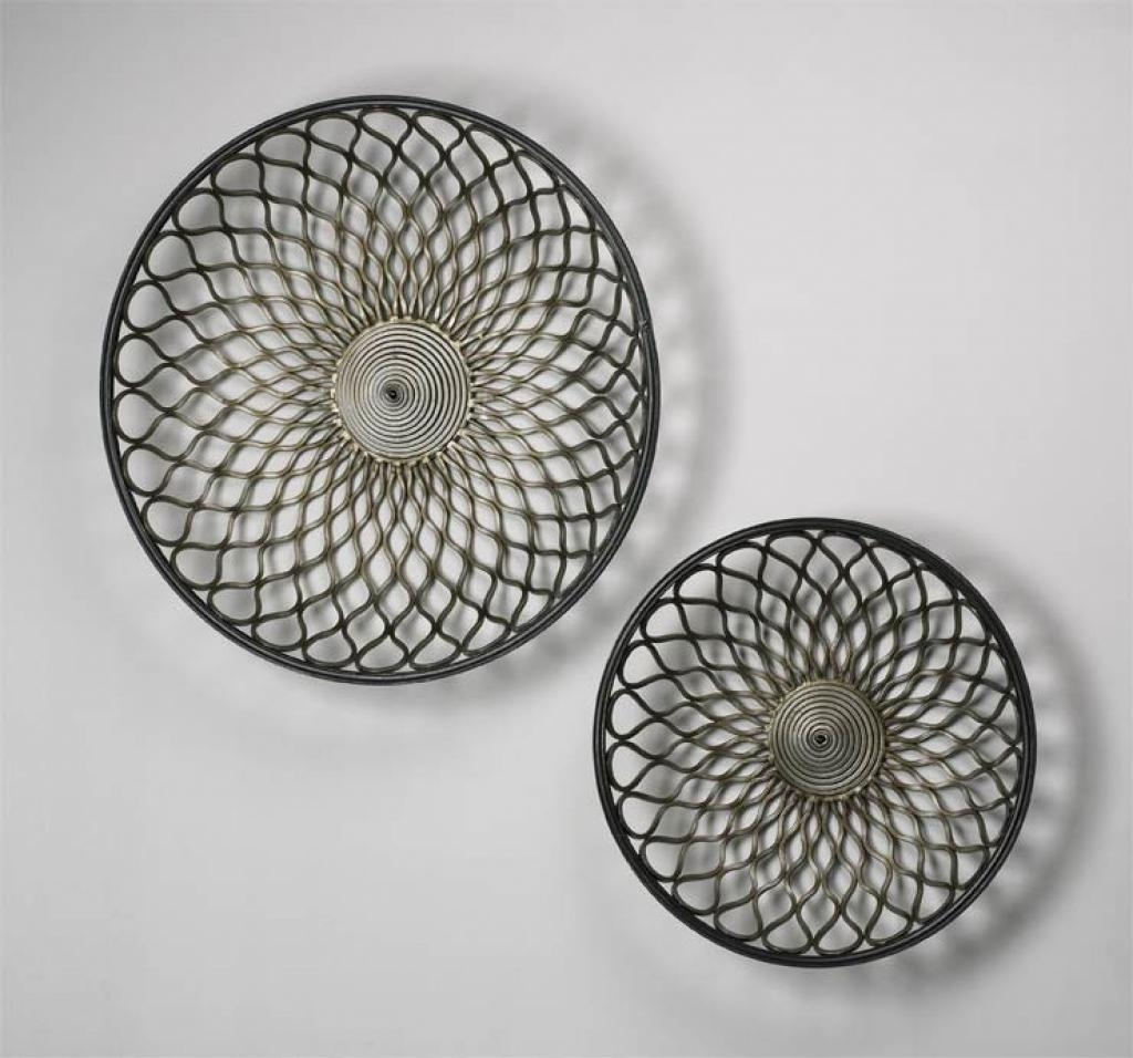 Wall Art: Large Contemporary Circular Metal Wall Art Contemporary Throughout Large Round Wall Art (Image 17 of 20)
