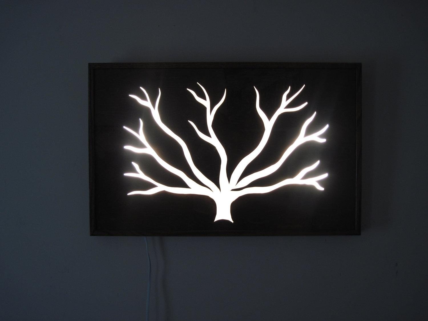 Wall Art Lights – 15 Best Decisions You Can Make In Regards To Within Wall Art With Lights (Image 18 of 20)