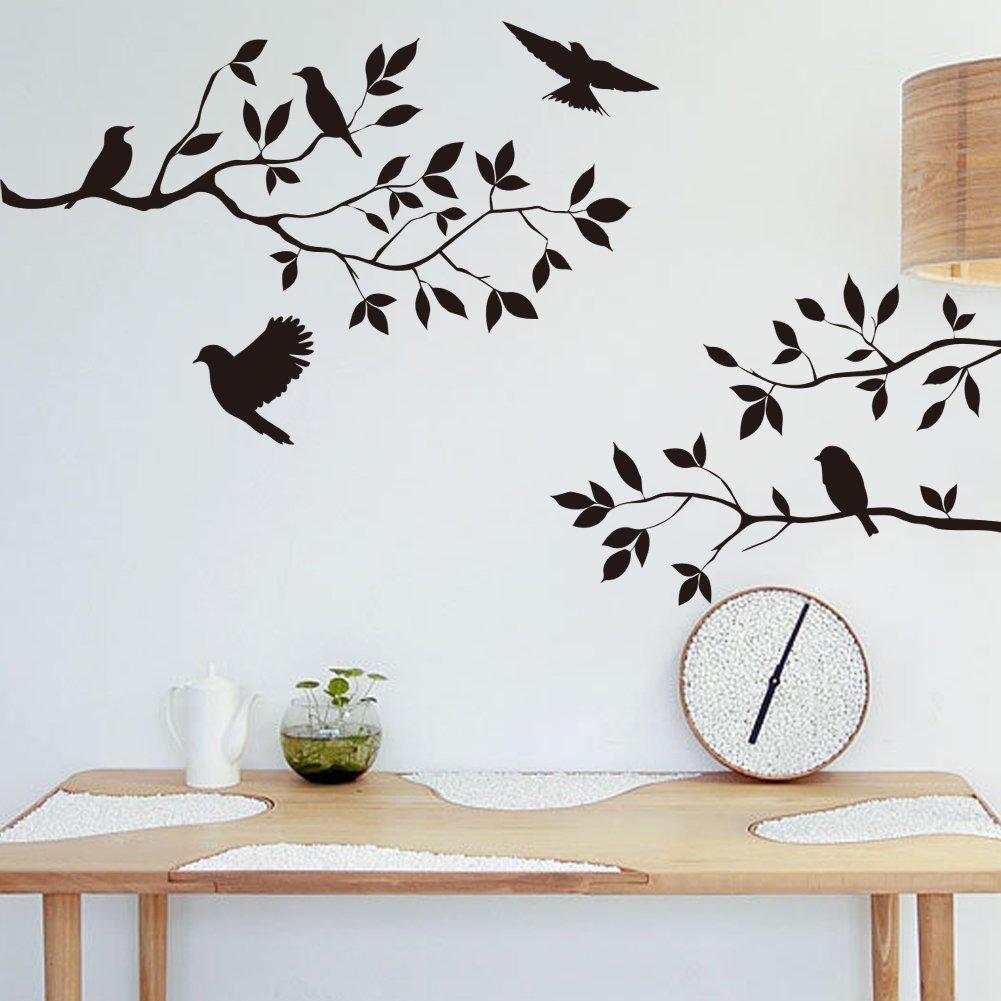 Wall Art: Marvellous Birds Wall Art Bird Decor, 3D Birds Wall Throughout Target Bird Wall Decor (View 7 of 20)