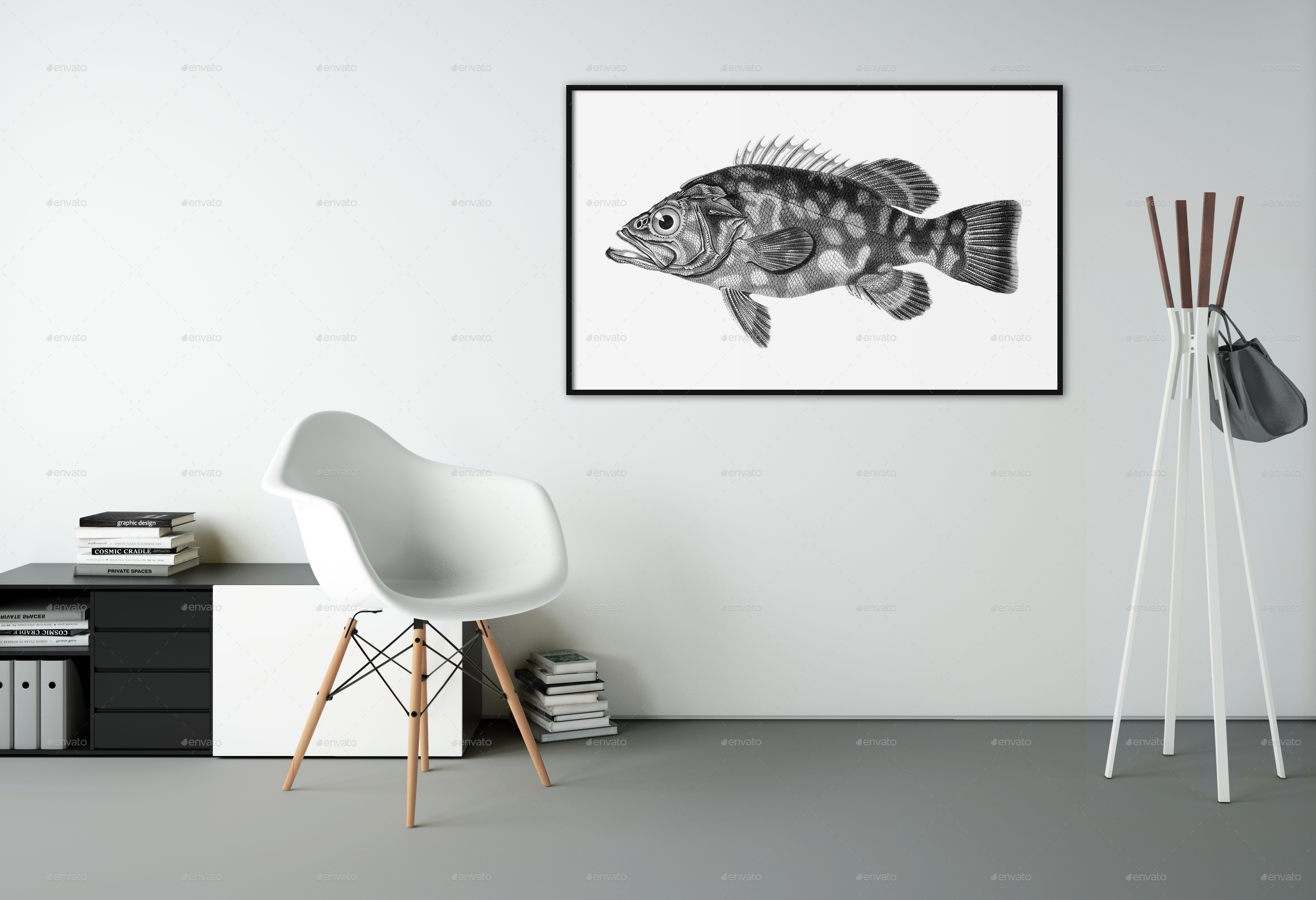 Wall Art Mockups Vol (Image 18 of 20)