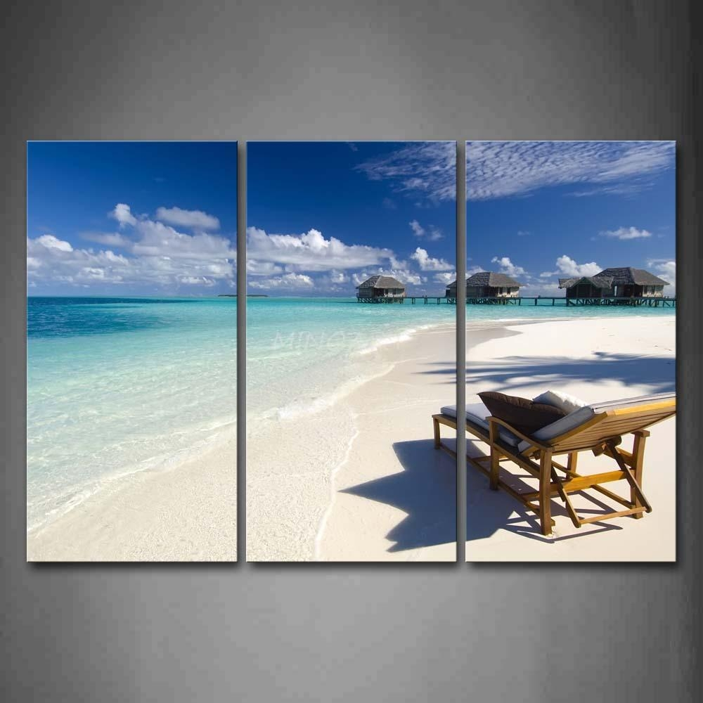 Piece Beach Wall Art Wall Art Ideas