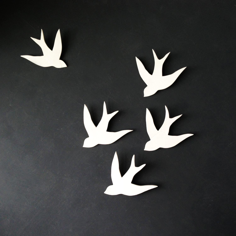 Wall Art: Outstanding Bird Wall Decor Metal Birds Wall Decor, Bird Throughout Ceramic Bird Wall Art (View 3 of 20)