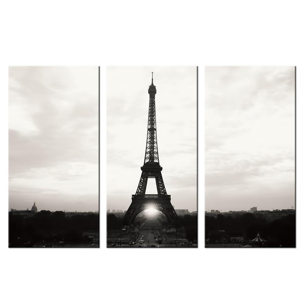 Wall Art Paris Promotion Shop For Promotional Wall Art Paris On In Black And White Paris Wall Art (Image 17 of 20)