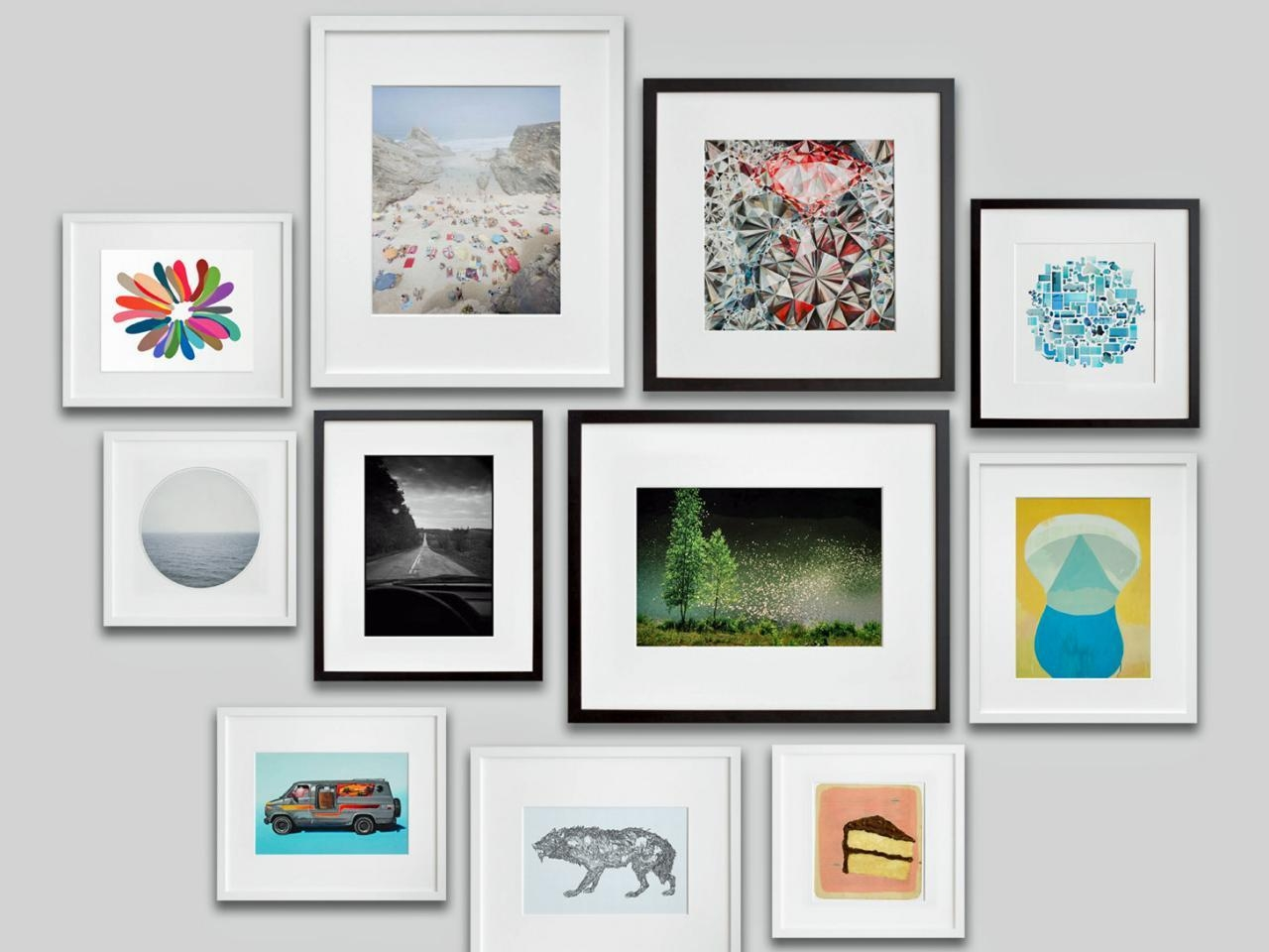 Wall Art Picture | Wallartideas For Black And White Framed Wall Art (Image 18 of 20)