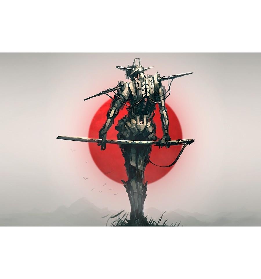 Wall Art – Samurai Poster – Art Of Heroes For Samurai Wall Art (View 12 of 20)