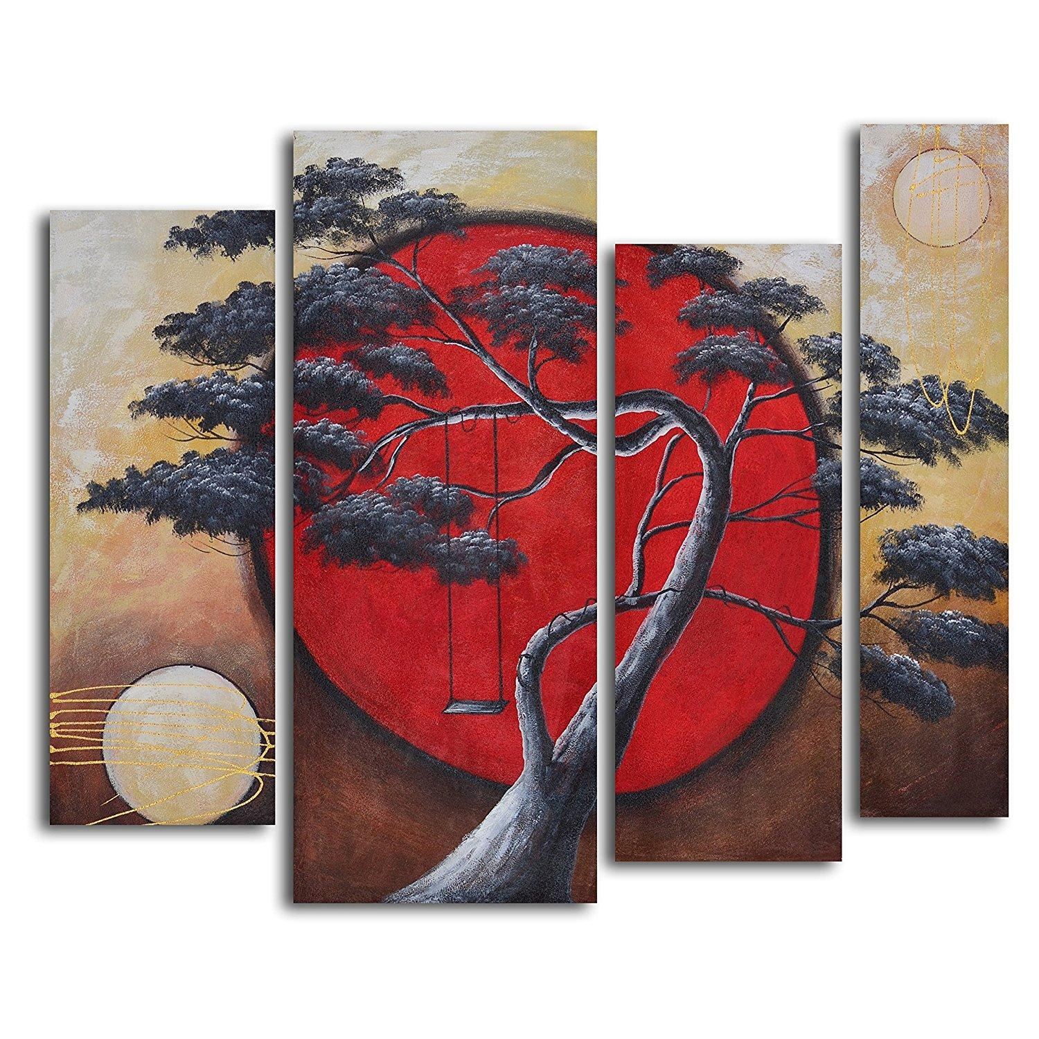 Wall Art: Stunning Canvas Art Sets 2 Piece Canvas Wall Art, Canvas Pertaining To 4 Piece Canvas Art Sets (Image 18 of 20)