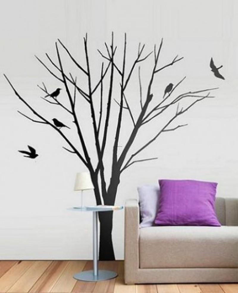 Wall Art Trees Unique Wall Art Decor On 3D Wall Art – Home With 3D Tree Wall Art (Image 18 of 20)