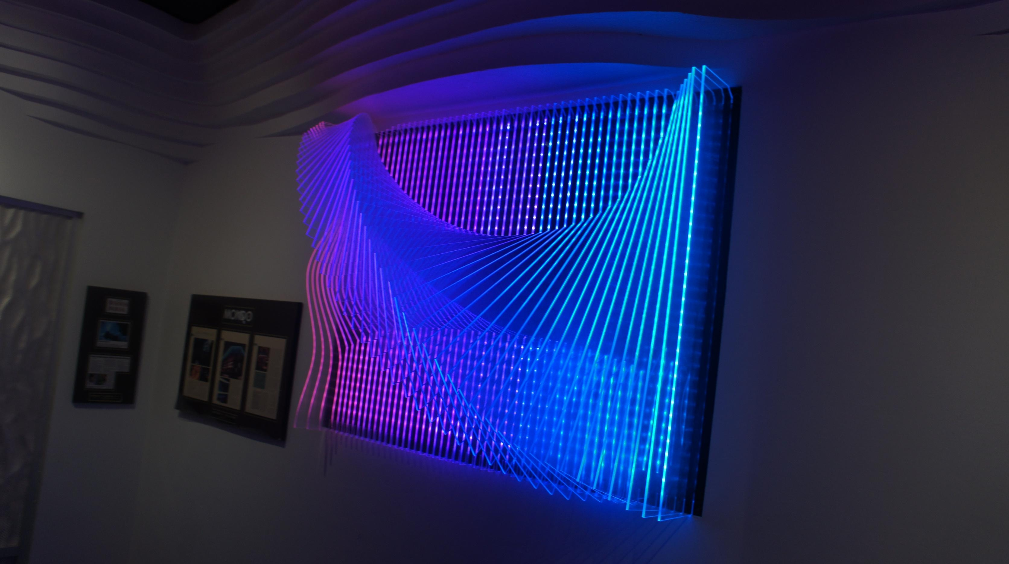 Wall Art With Led Lights – The Art Of The Future | Warisan Lighting Throughout Wall Art With Lights (Image 19 of 20)
