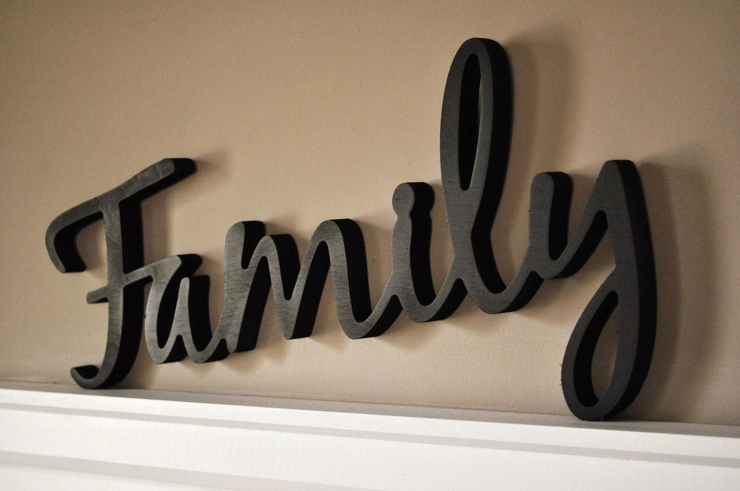 Wall Art Wooden Words | Wallartideas In Wooden Words Wall Art (View 1 of 20)
