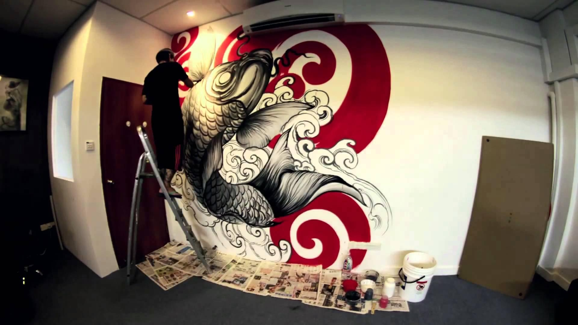 Wall Artdonald Tattoo – Youtube With Regard To Tattoos Wall Art (View 1 of 20)