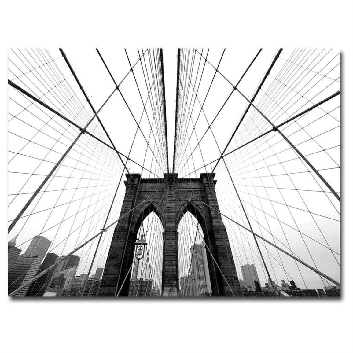 Wall. Brooklyn Wall Art – Home Interior Design Throughout Brooklyn Bridge Wall Decals (Photo 13 of 20)