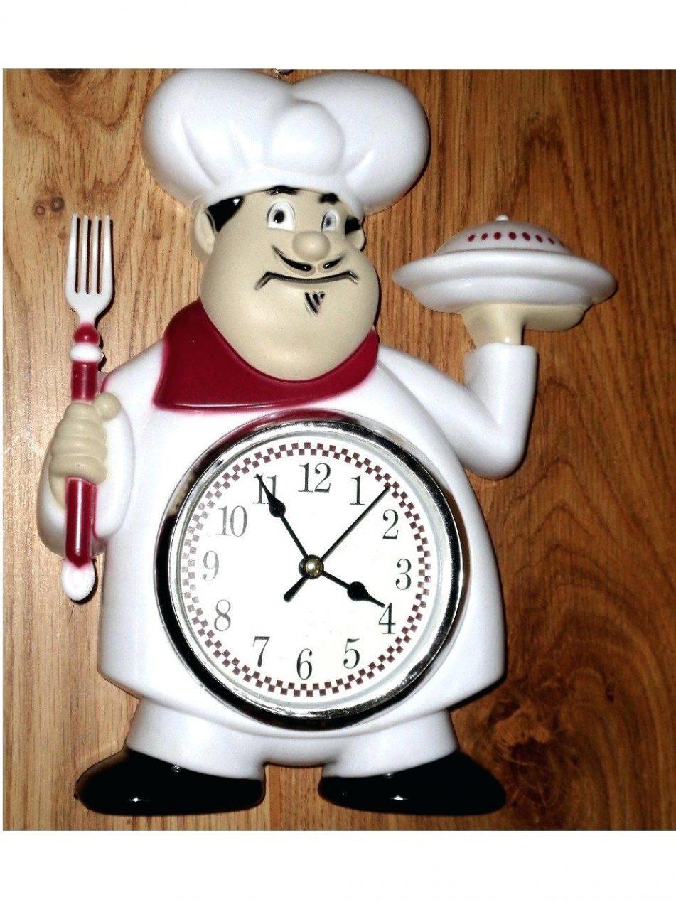 Wall Clocks : Italian Style Wall Clocks Fat Italian Chef Kitchen In Italian Ceramic Wall Clock Decors (Image 17 of 20)