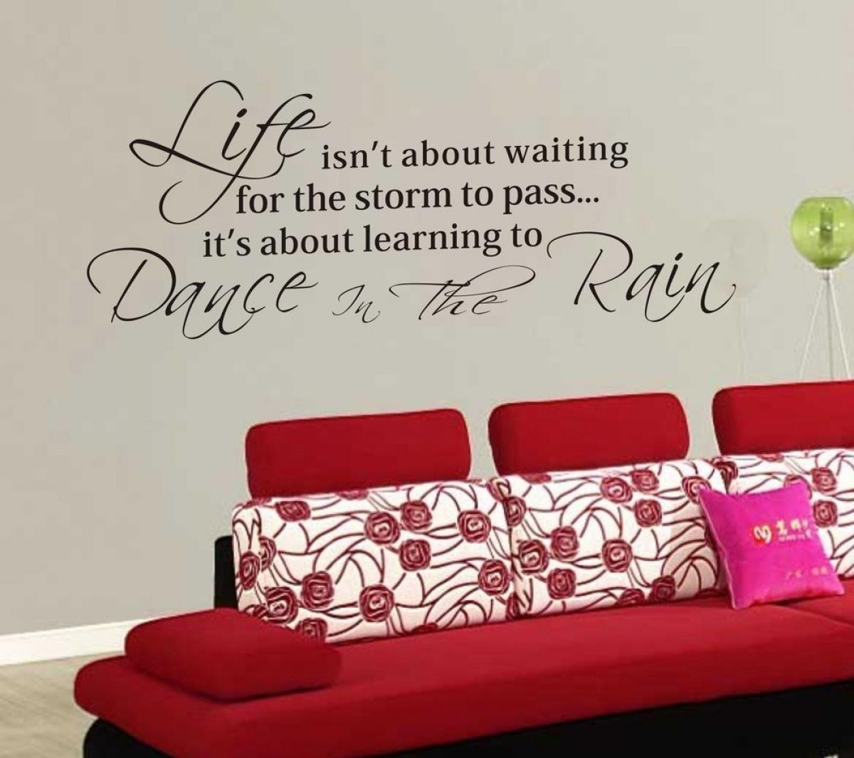 Wall Decal Design (View 6 of 20)