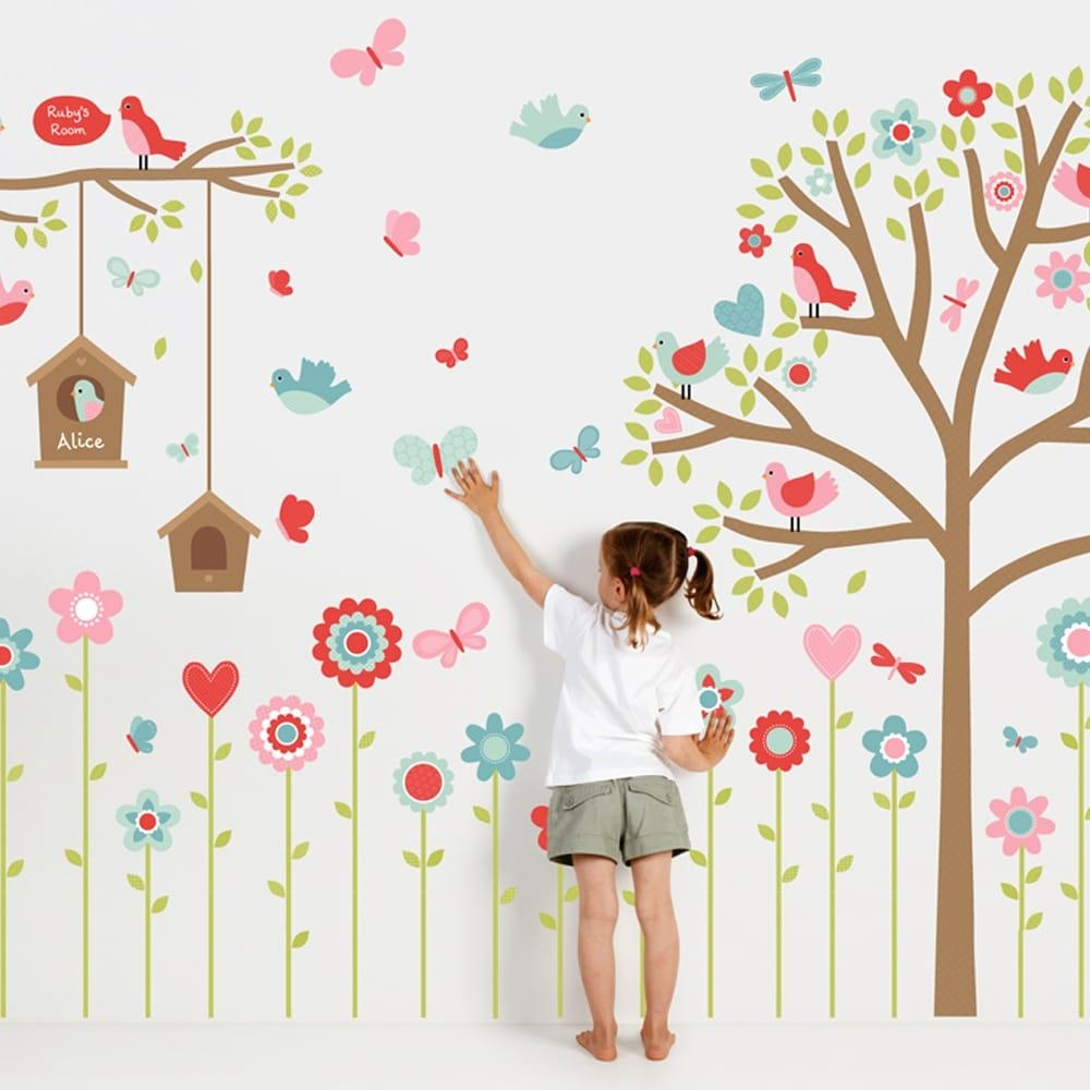Wall Decals | Nursery Decals | Wall Stickers – Tinyme For Wall Art Stickers For Childrens Rooms (View 12 of 20)