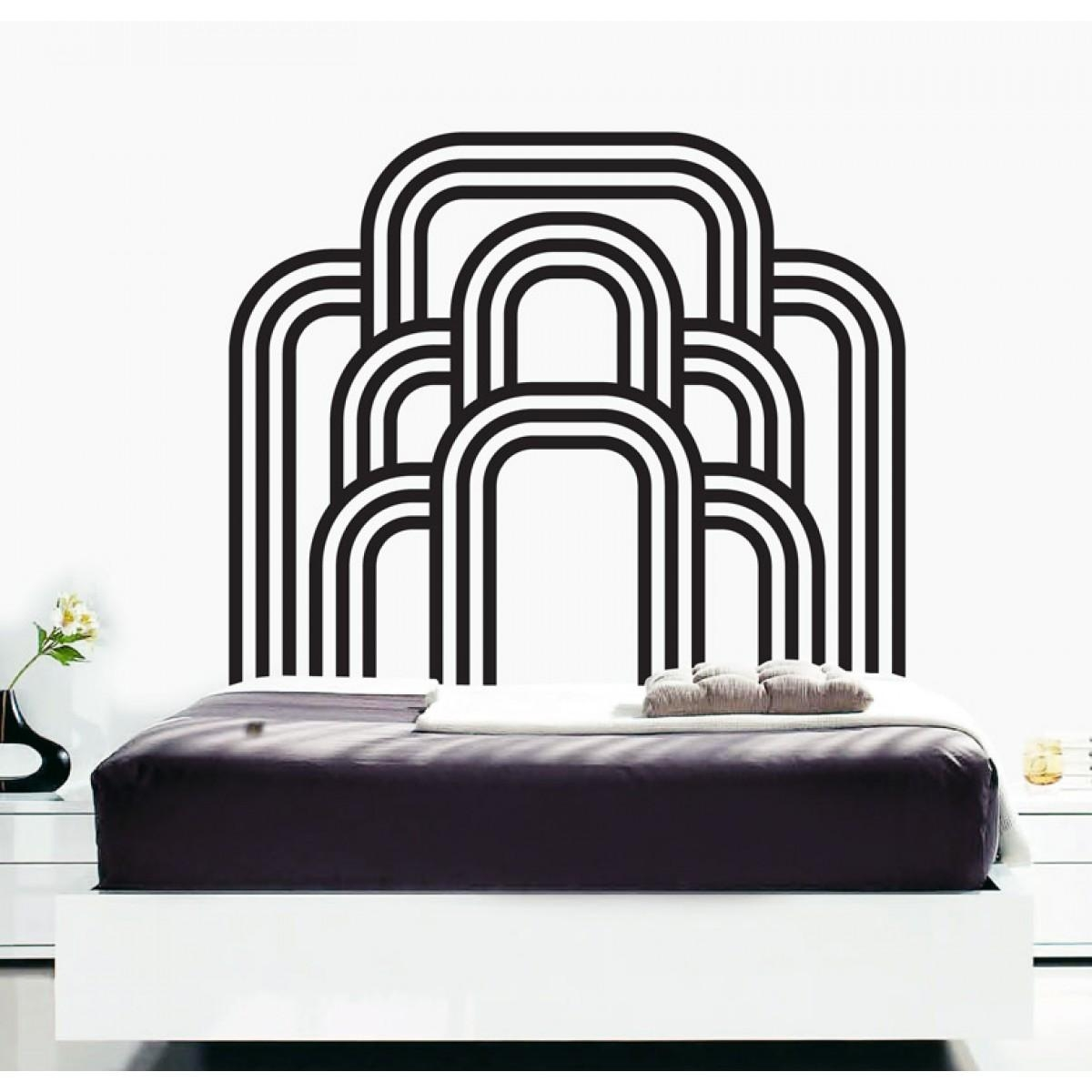 Wall Decals – Thewonderwalls® | Bedroom Art Deco Wall Stickers Pertaining To Art Deco Wall Decals (View 10 of 20)