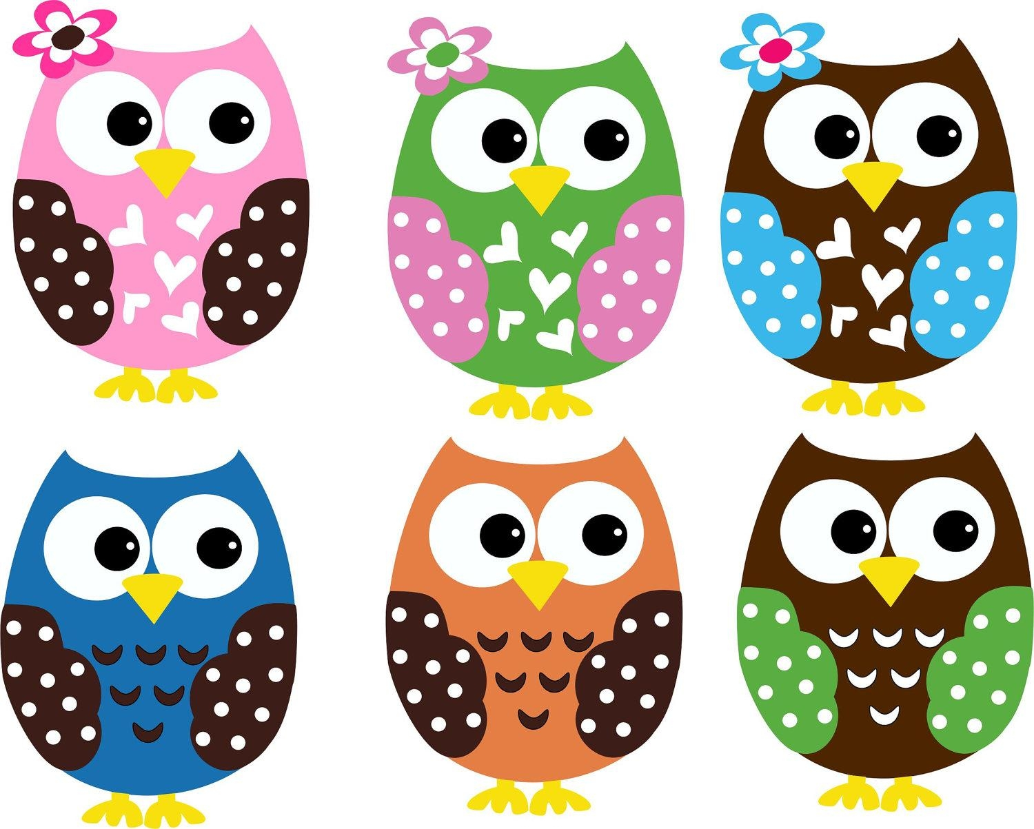 Wall Decals : Trendy Colors Owl Wall Decals 117 Owl Wall Stickers  Throughout Kohls Wall Art