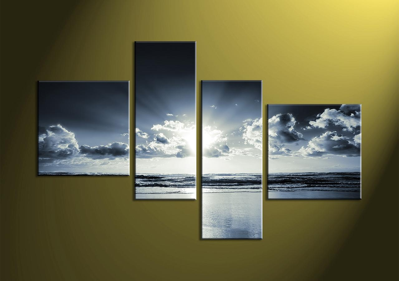 Wall Decor: 4 Piece Wall Art Photo. 4 Piece Wall Art Uk (Image 15 of 20)