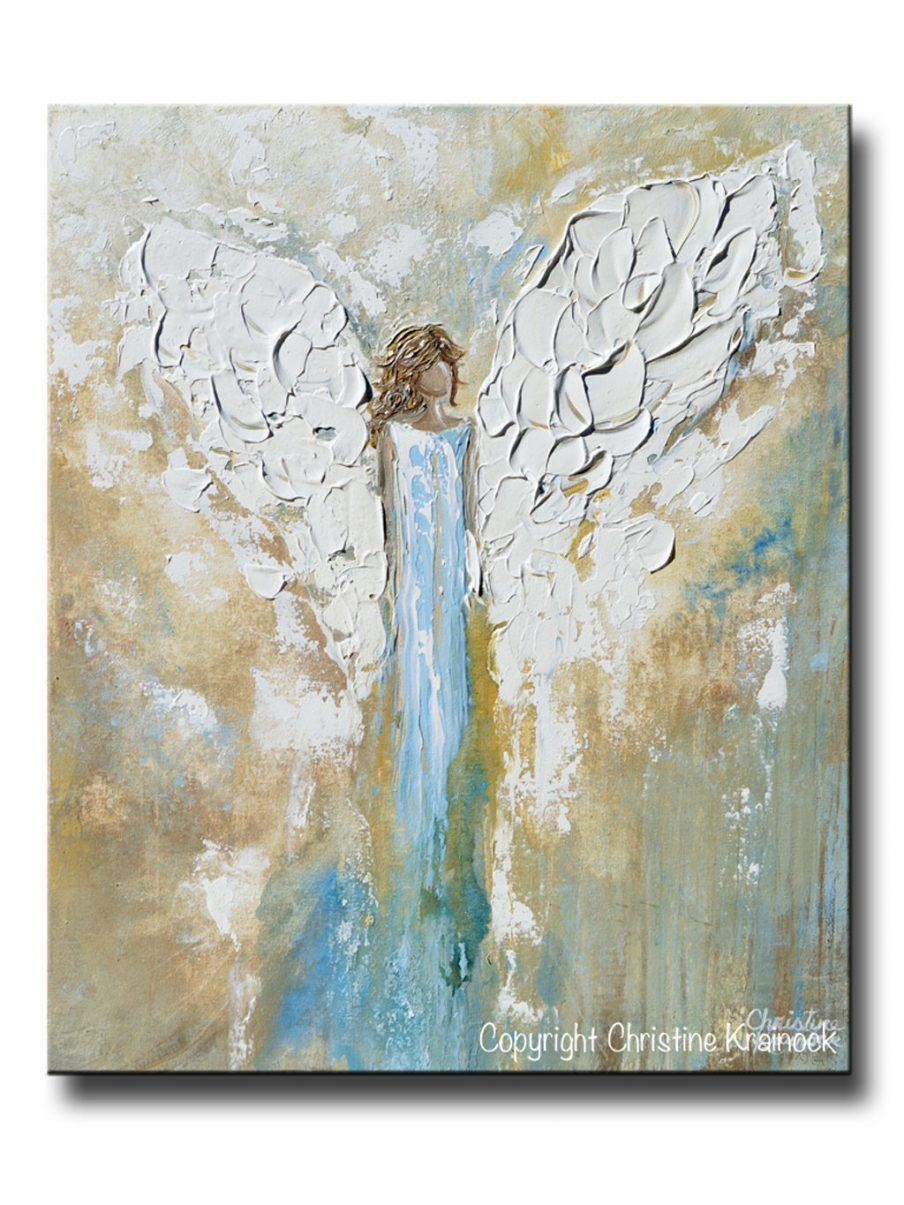 Wall Decor: Angel Wings Wall Art Design (View 6 of 20)