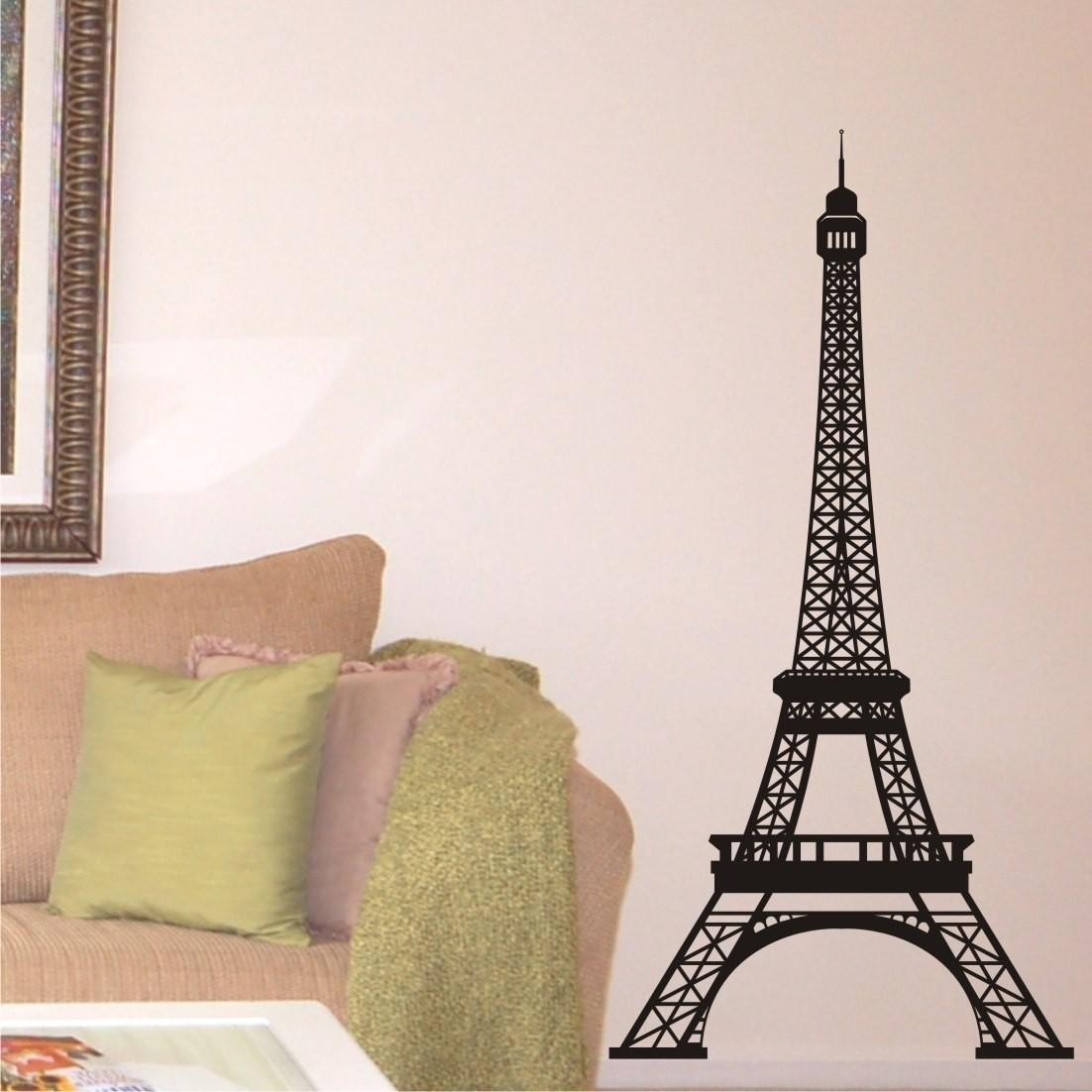 Wall Decor Eiffel Tower | New Interior Design Regarding Eiffel Tower Wall Art (View 4 of 20)