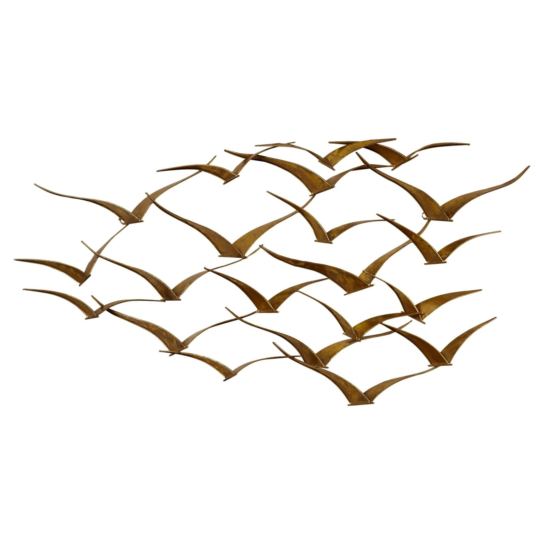 Wall Decor: Metal Wall Art Birds Photo (Image 19 of 20)