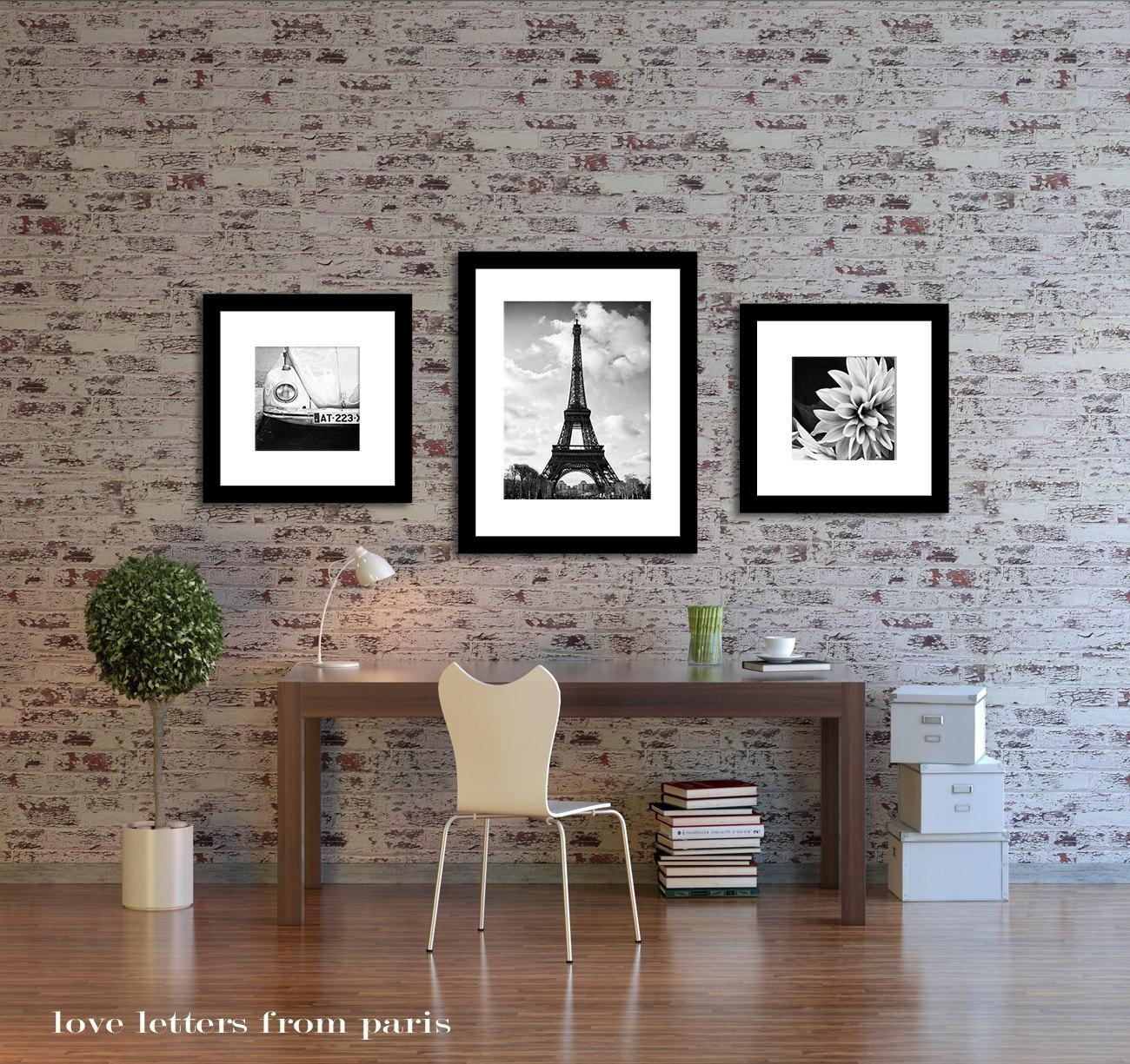 Wall Decor Photography Entrancing Design Ideas Top Parisian Home Pertaining To Paris Theme Wall Art (View 6 of 20)
