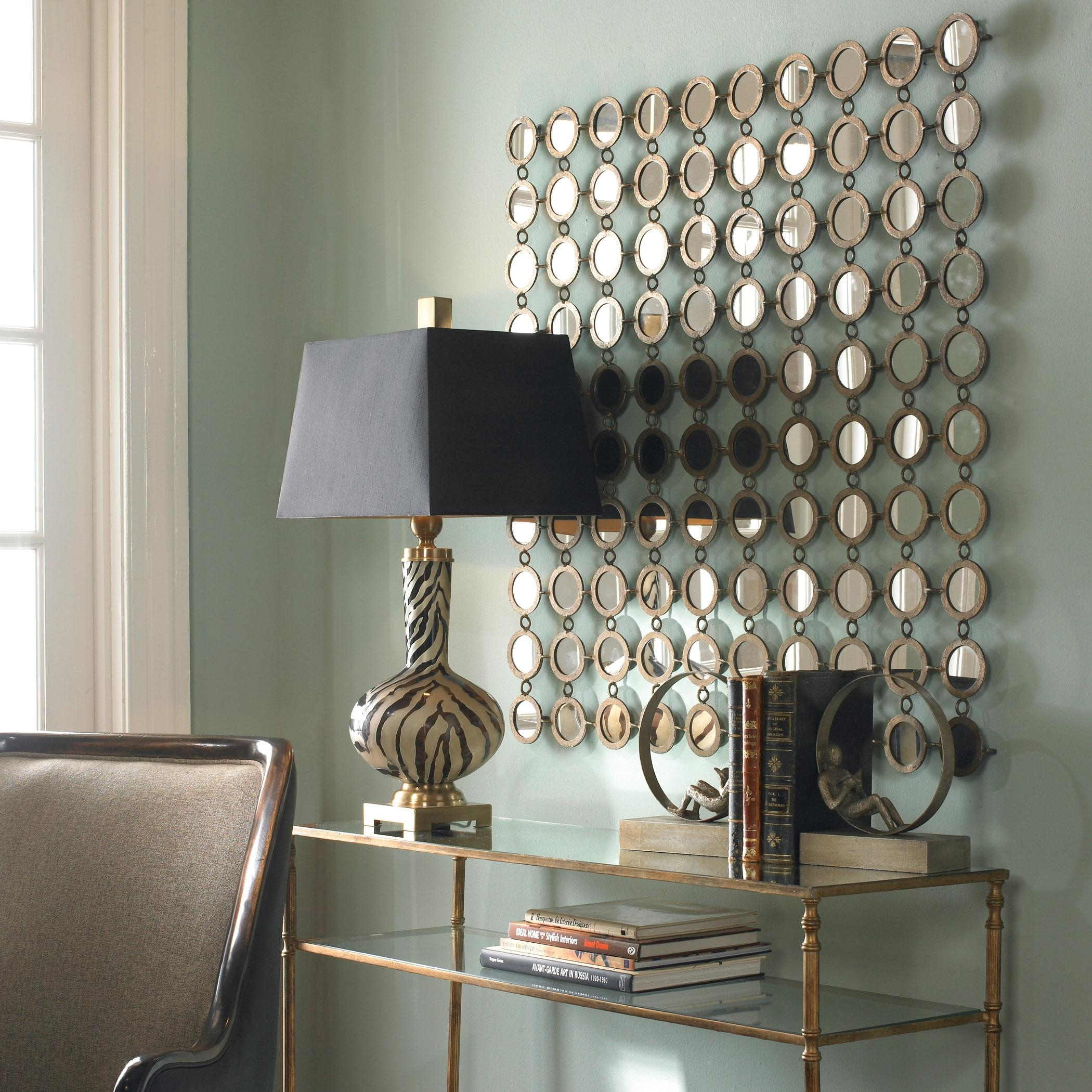 Wall Decor: Wall Mirror Panels Design (View 16 of 20)