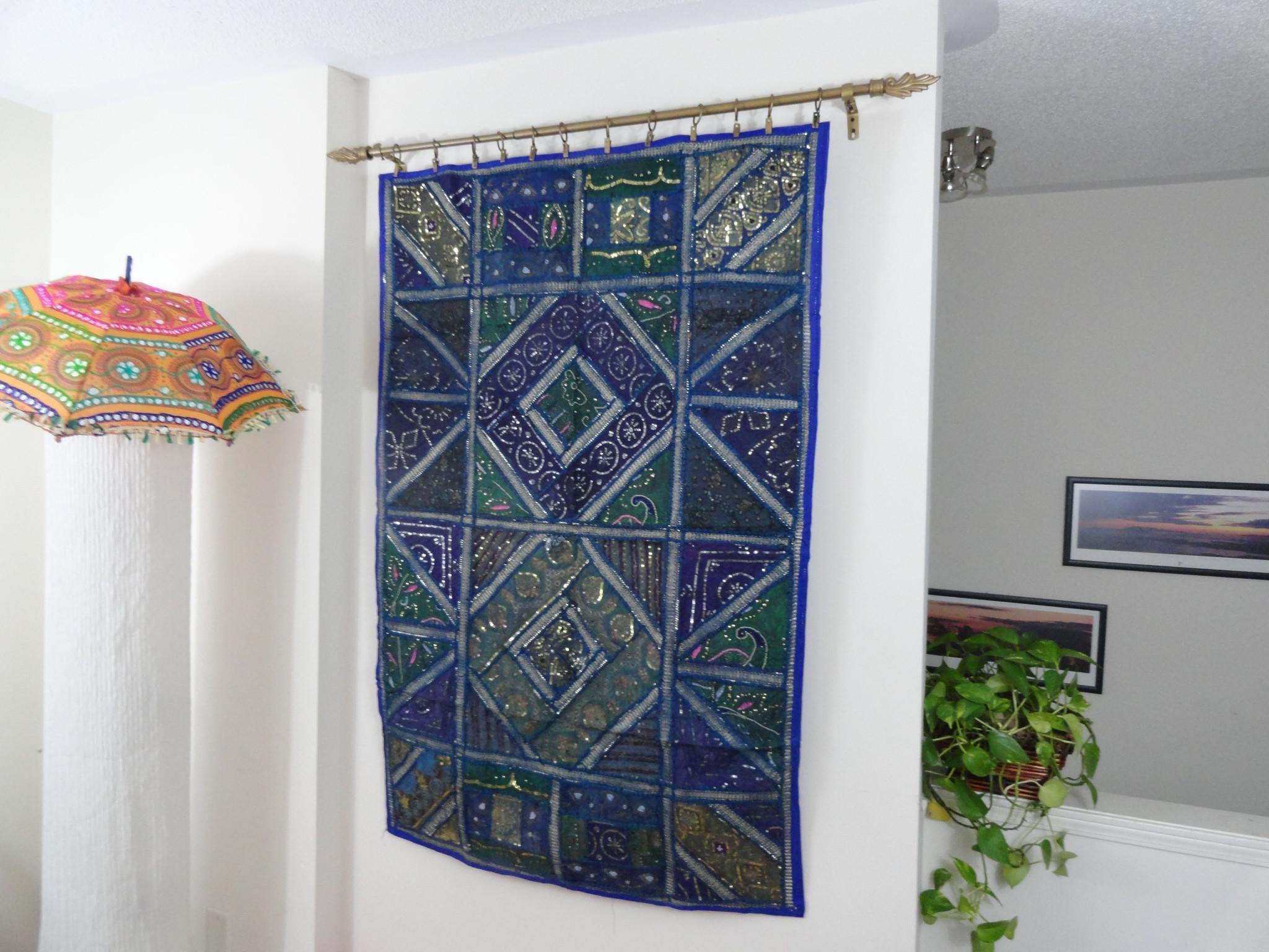 Wall Design: Fabric Wall Hangings Design (View 6 of 20)
