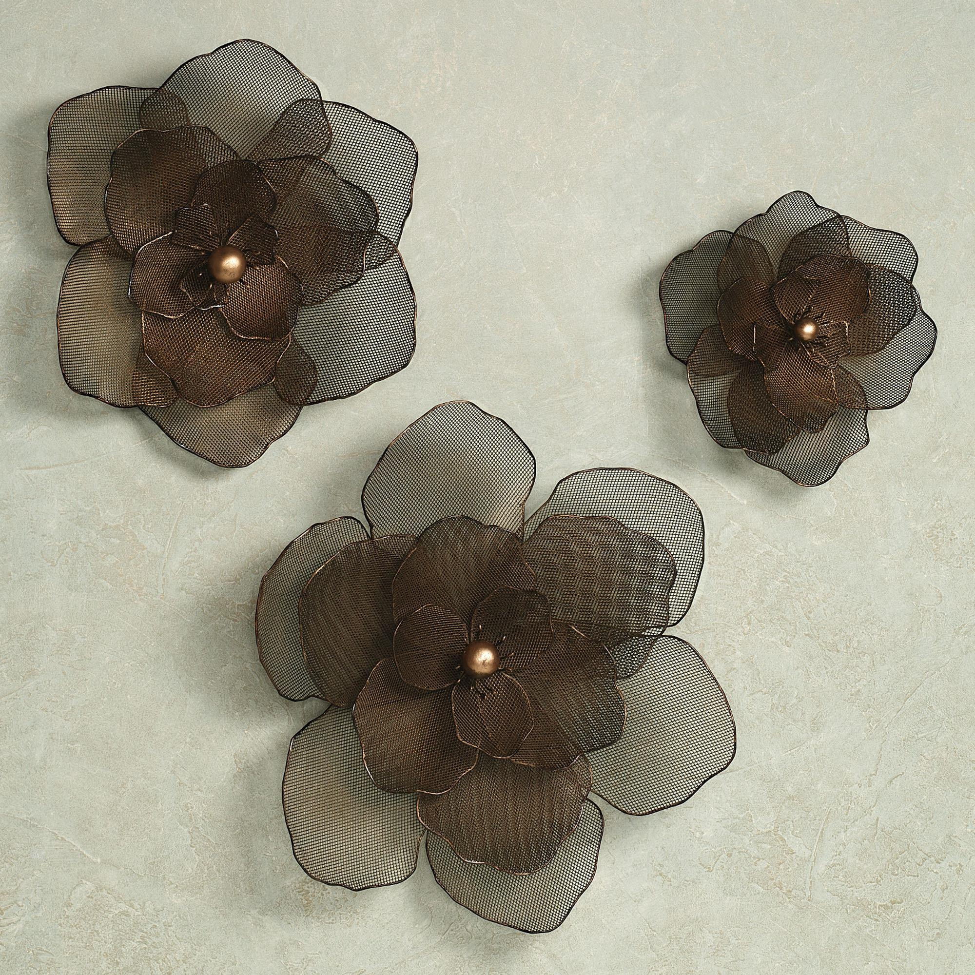 Wall Design: Metal Flower Wall Art Inspirations (Image 16 of 20)