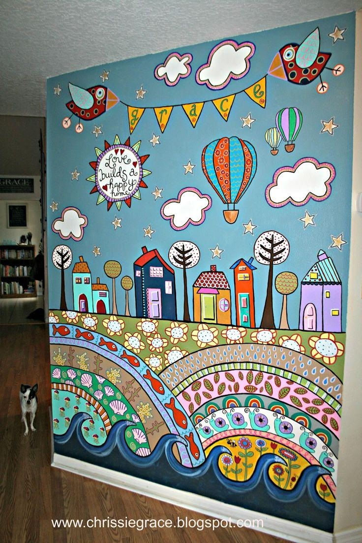 Wall Design: Playroom Wall Art Design (View 15 of 20)