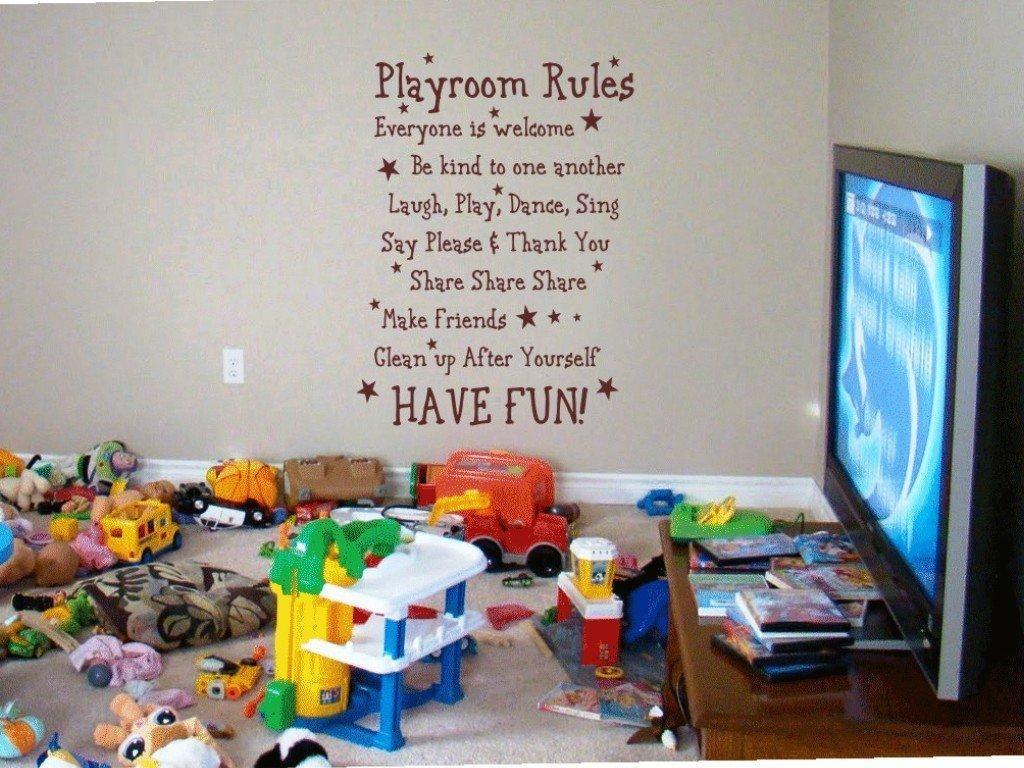 Wall Design: Playroom Wall Art Design (Image 19 of 20)