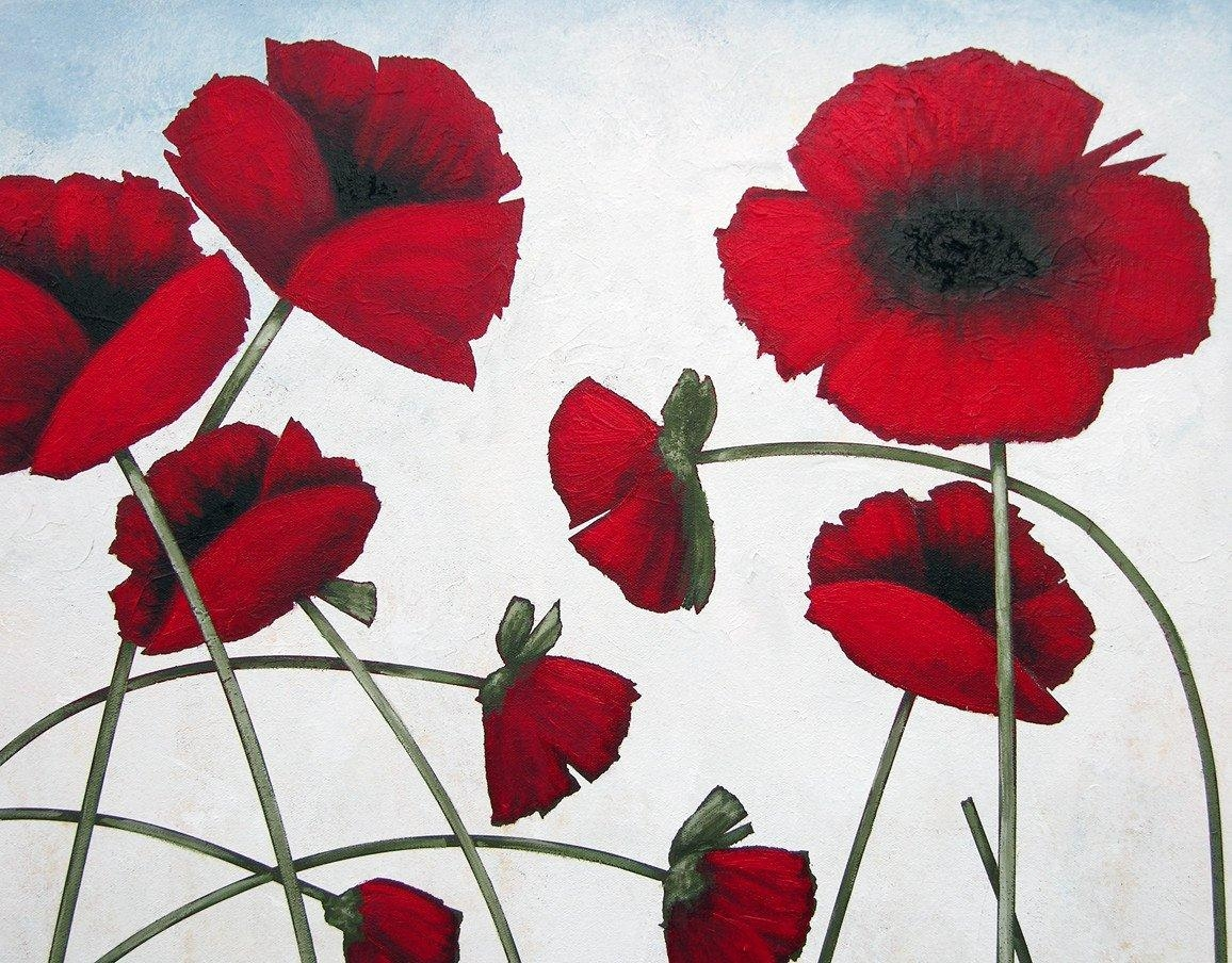 Wall Design: Poppy Wall Art Pictures (View 3 of 20)