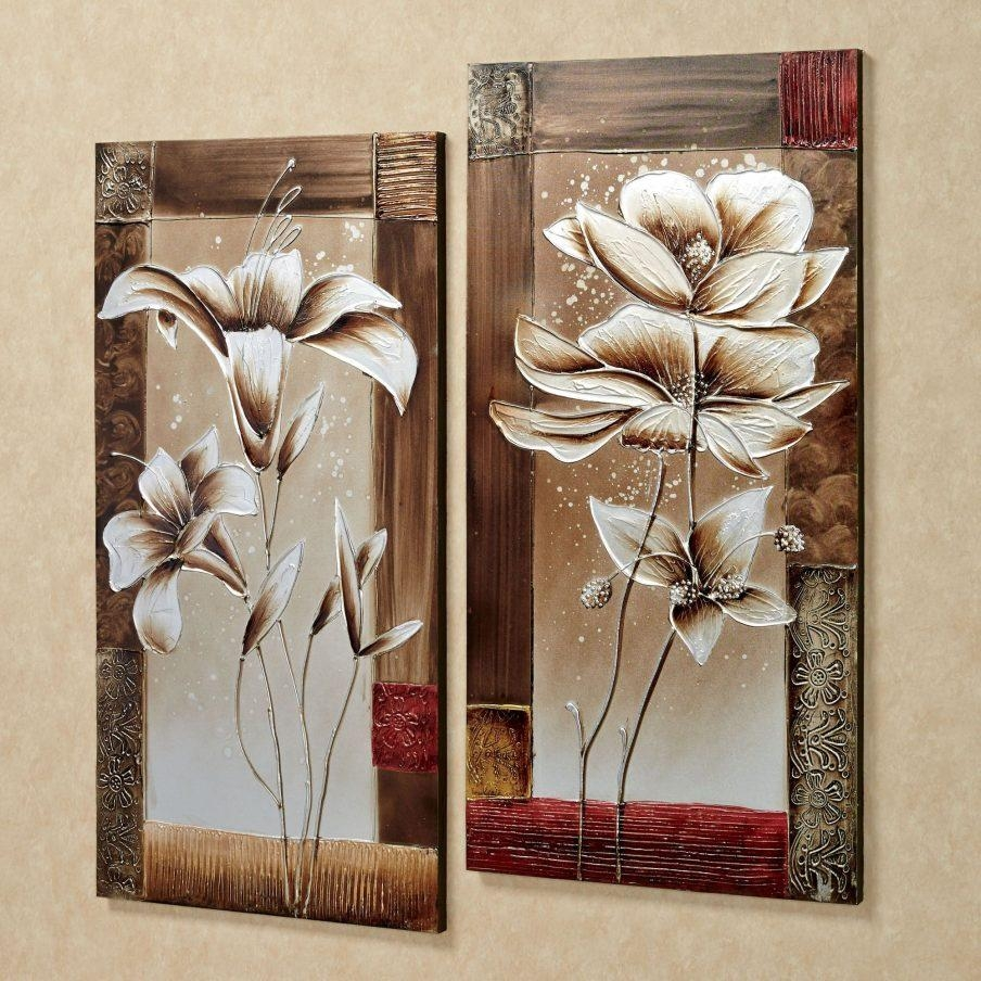 Wall Design: Wall Art Flowers Images. Design Decor (View 10 of 20)