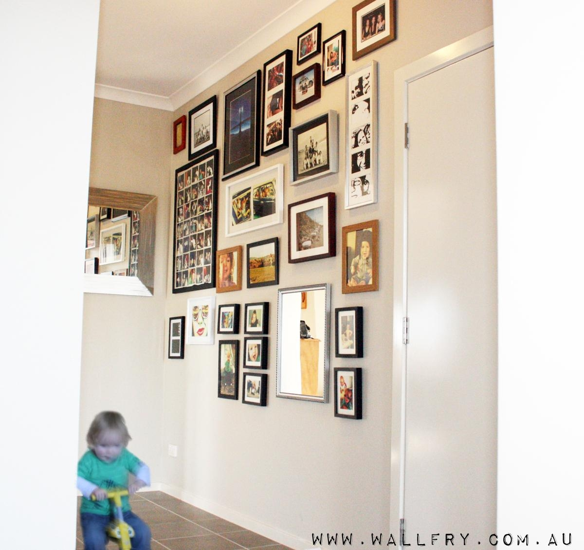 Wall Frame Collage – Photos And Art Inside Wall Art Frames (Image 18 of 20)
