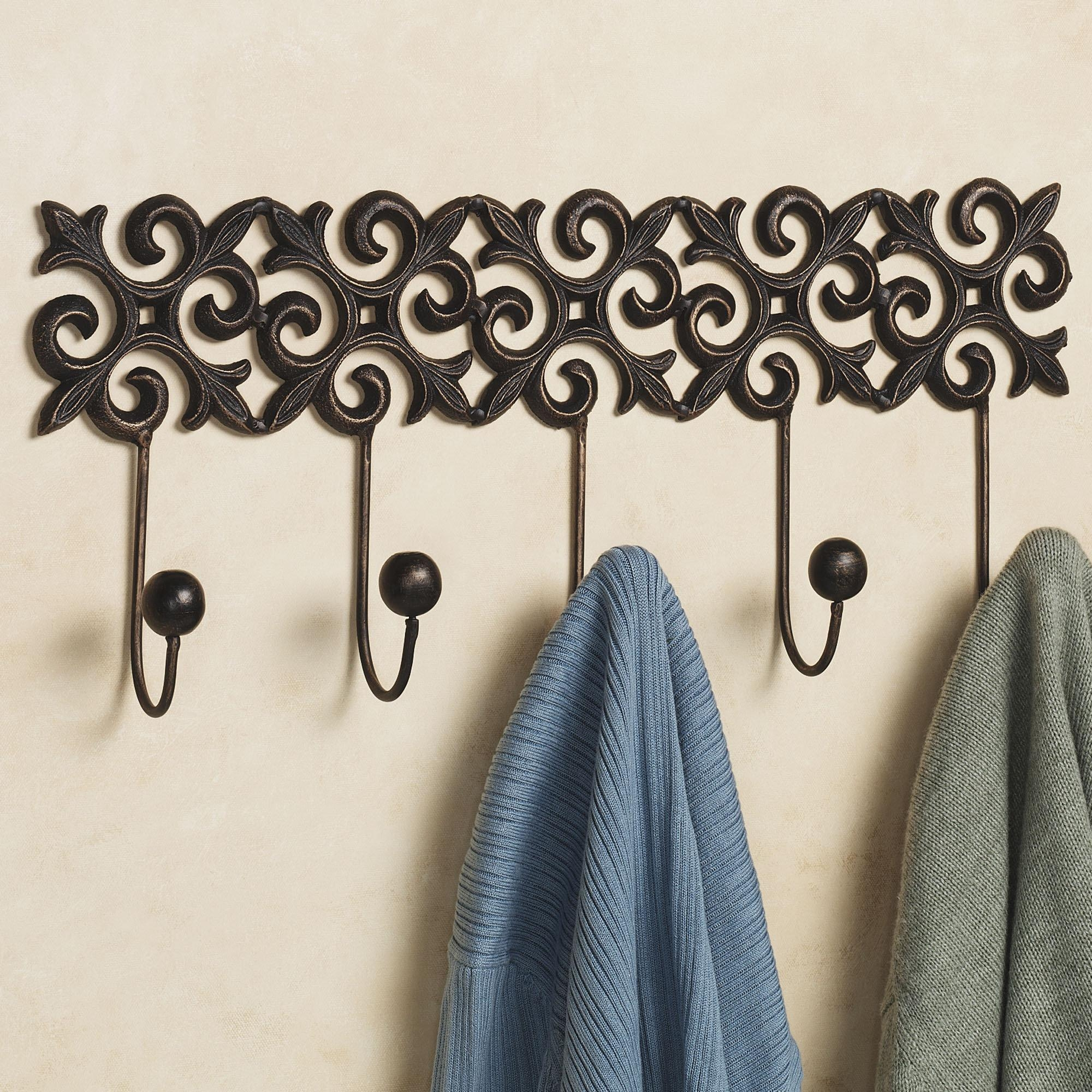 Wall Hooks ~ Home Decor With Regard To Wall Art Coat Hooks (Image 17 of 20)