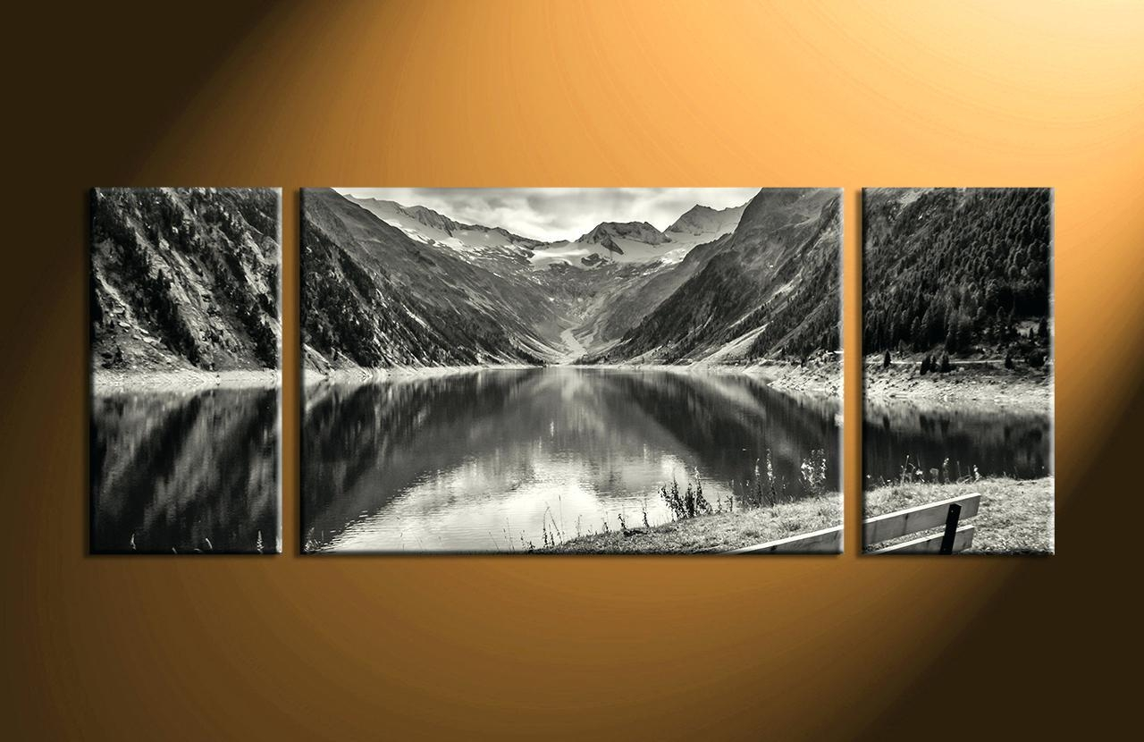 Wall Ideas : 3 Panel Wall Art Beach Groupon 3 Panel Canvas Wall Within Cheap Black And White Wall Art (Image 20 of 20)