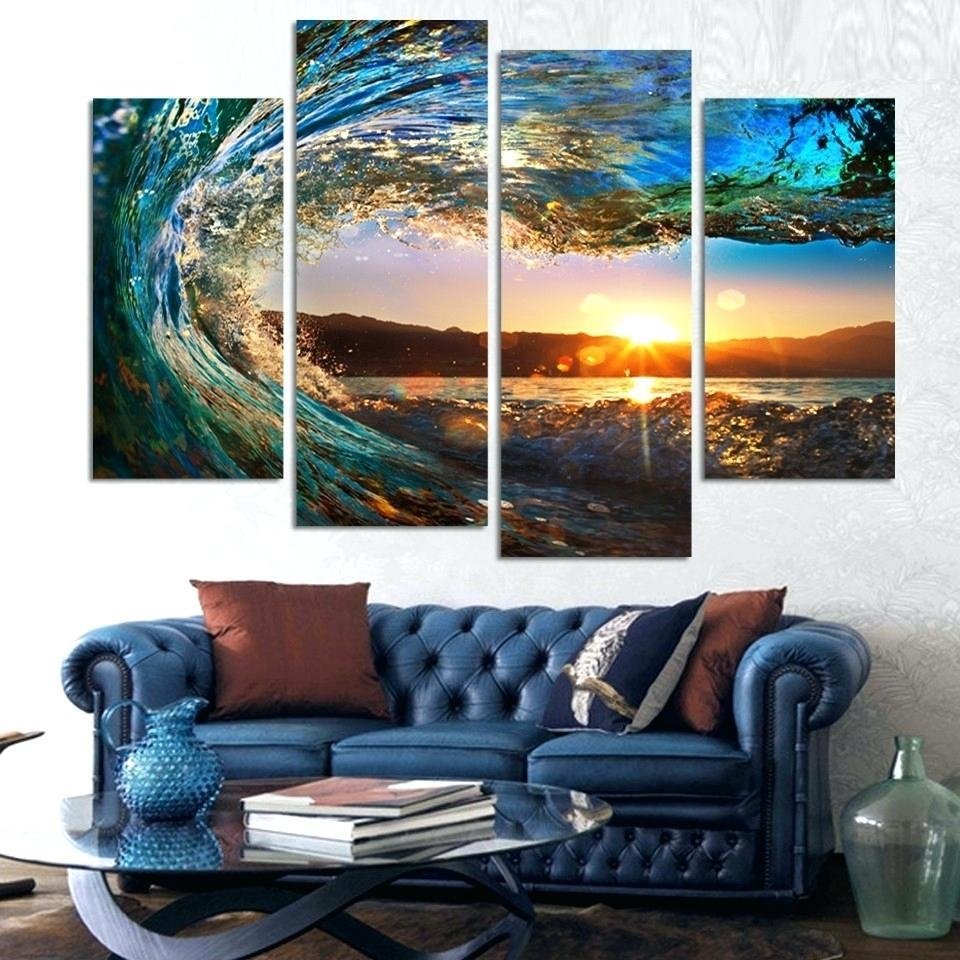 Wall Ideas : 4 Piece Wall Art Ideal Canvas Wall Art For Outdoor With Regard To 4 Piece Wall Art Sets (Image 20 of 20)