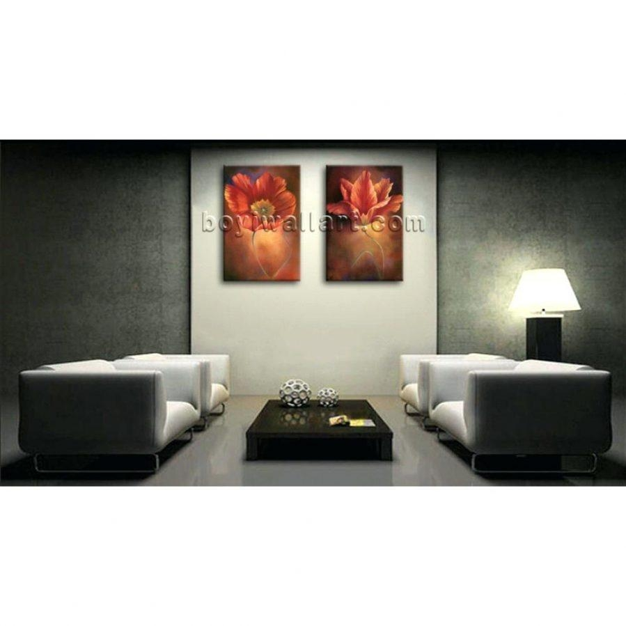 Wall Ideas : Abstract Framed Wall Art Square 4 V2 Black Framed Pertaining To Wall Art Sets For Living Room (View 4 of 20)