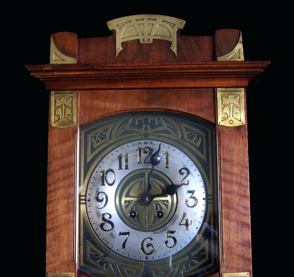 Wall Ideas : Art Deco Wall Clocks Large Art Deco Huge Star Mirror Within Large Art Deco Wall Clocks (Image 18 of 20)