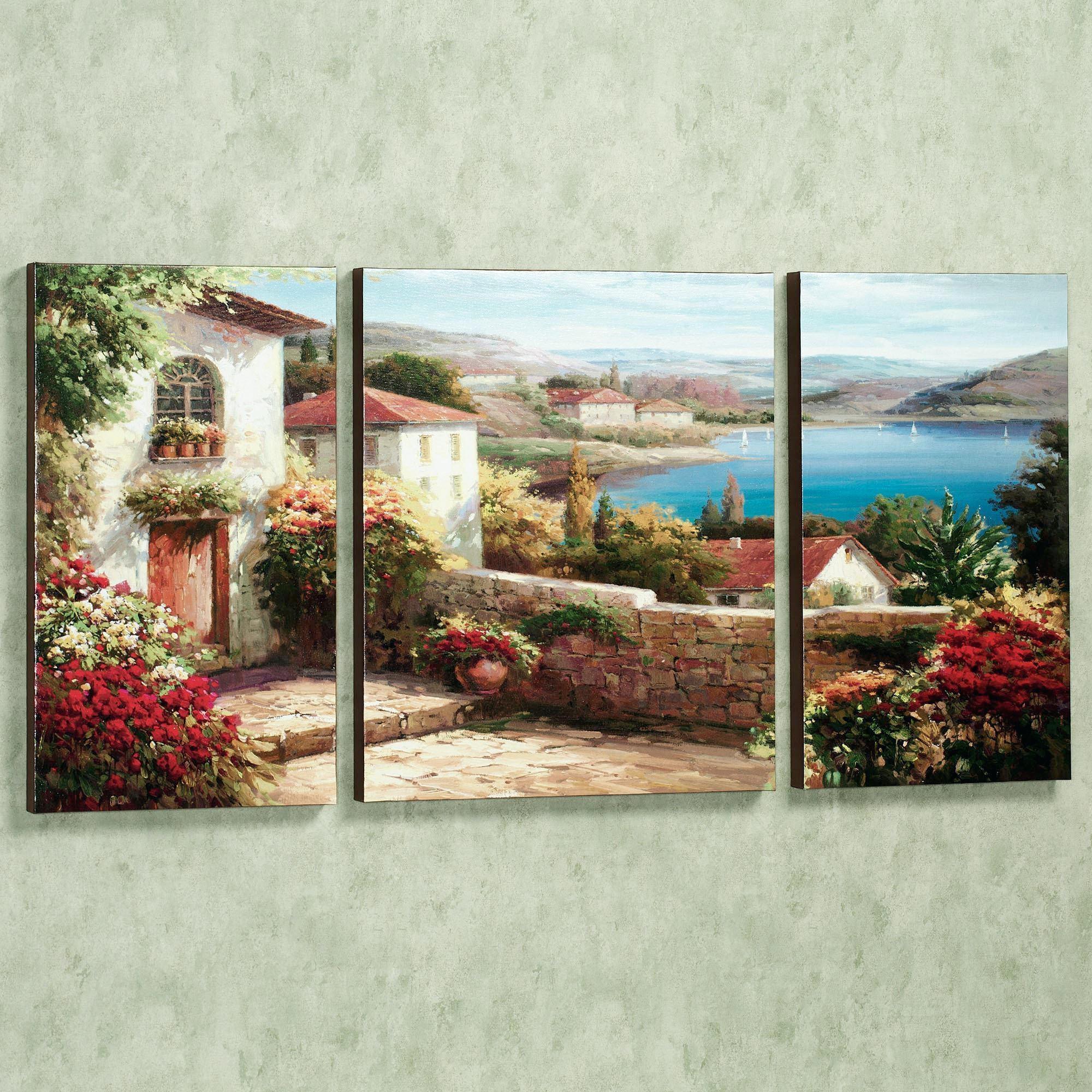 Wall Ideas : Birds Perchedflowers Canvas Wall Art Set Canvas In Oversized Canvas Wall Art (View 4 of 20)