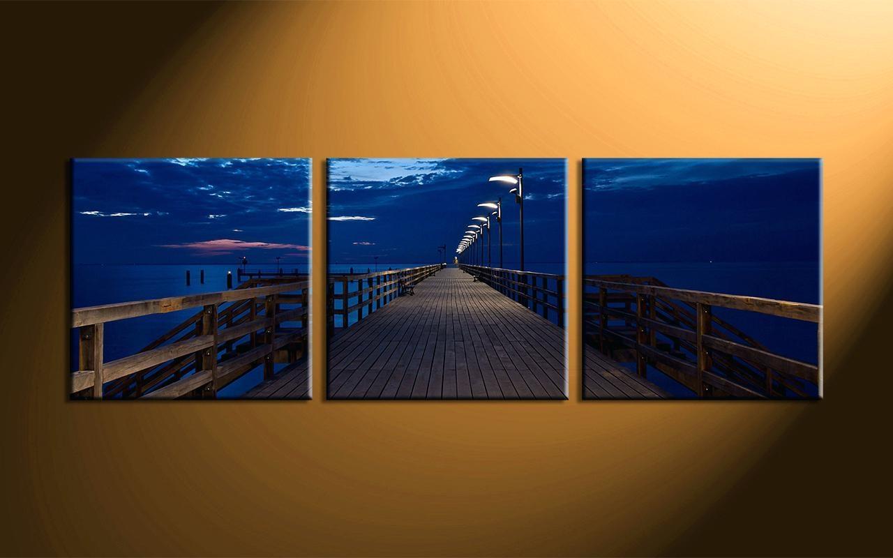 Wall Ideas : Blue Wall Art Decor Home Decor3 Piece Canvas Wall Art For 48X48 Canvas Wall Art (Image 13 of 20)
