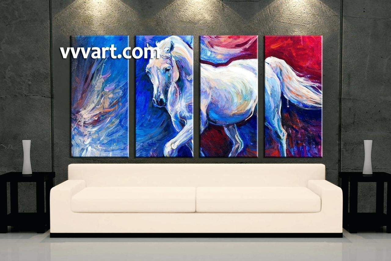 Wall Ideas : Blue Wall Art Decor Home Decor3 Piece Canvas Wall Art Pertaining To 48X48 Canvas Wall Art (Image 14 of 20)