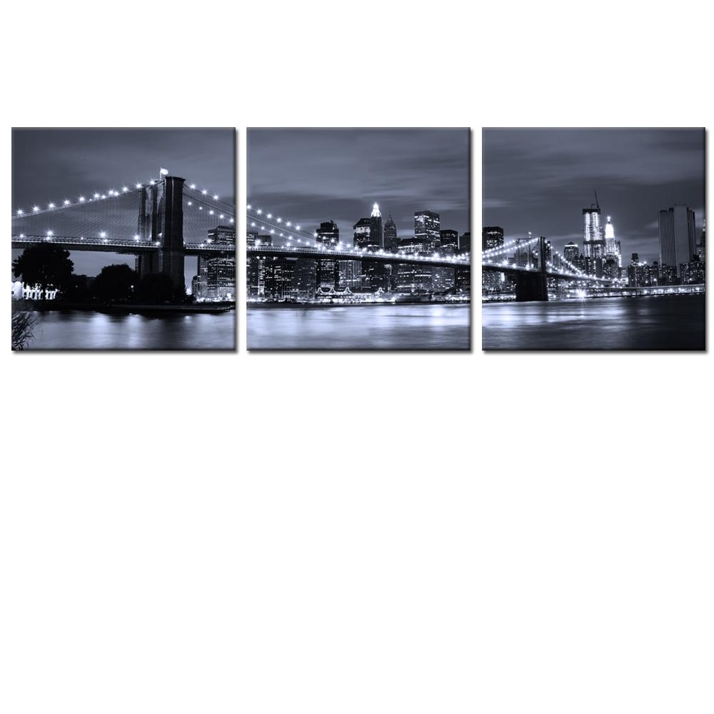 Wall Ideas: Brooklyn Wall Art Photo. Design Decor (Image 17 of 20)
