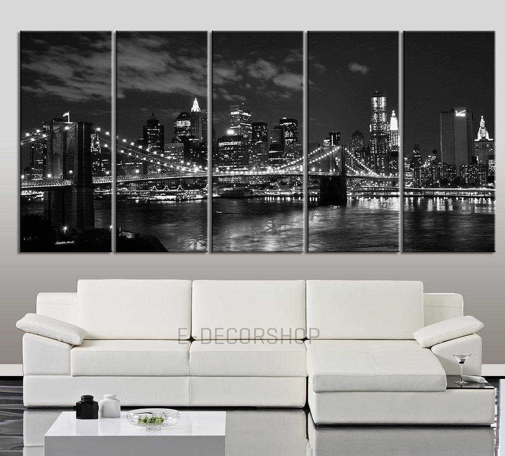 Wall Ideas: Brooklyn Wall Art Photo. Design Decor (Image 18 of 20)