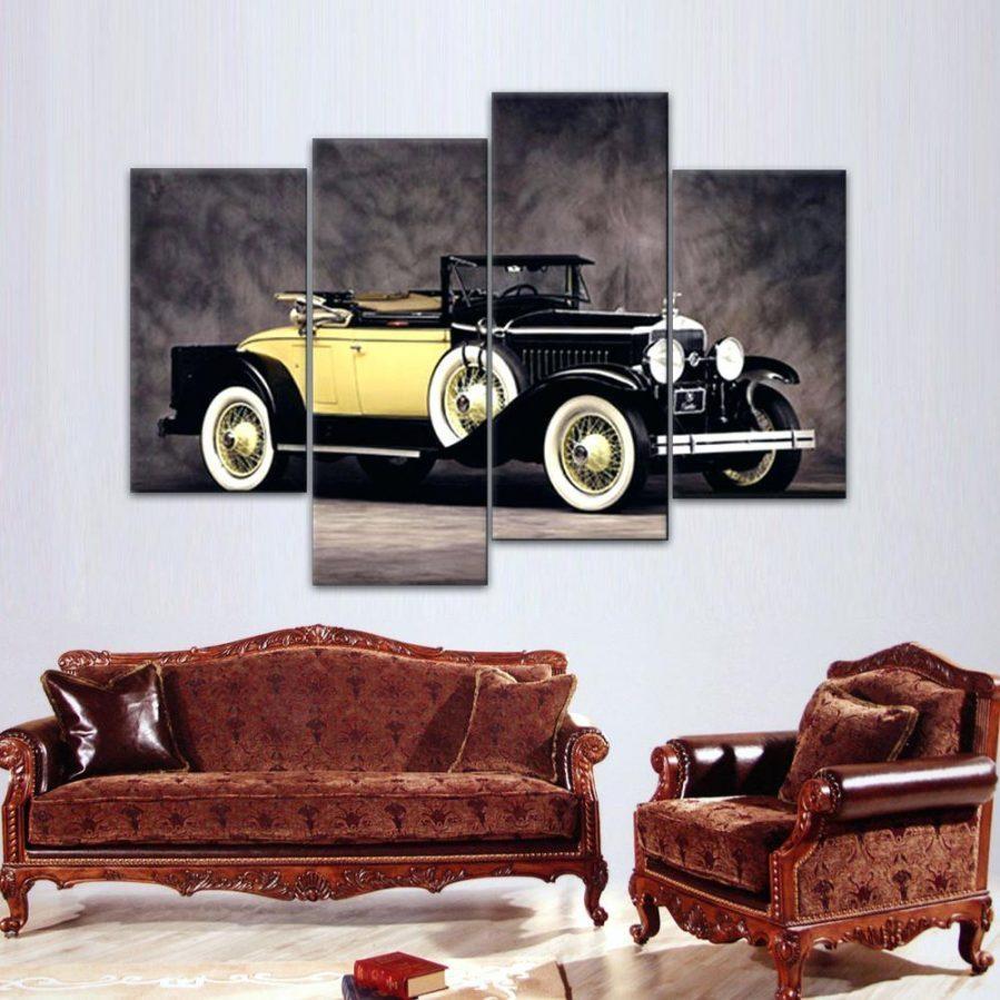Wall Ideas : Car Art Wall Print Car Grill Wall Art Old Car Grill With Regard To Classic Car Wall Art (Image 19 of 20)