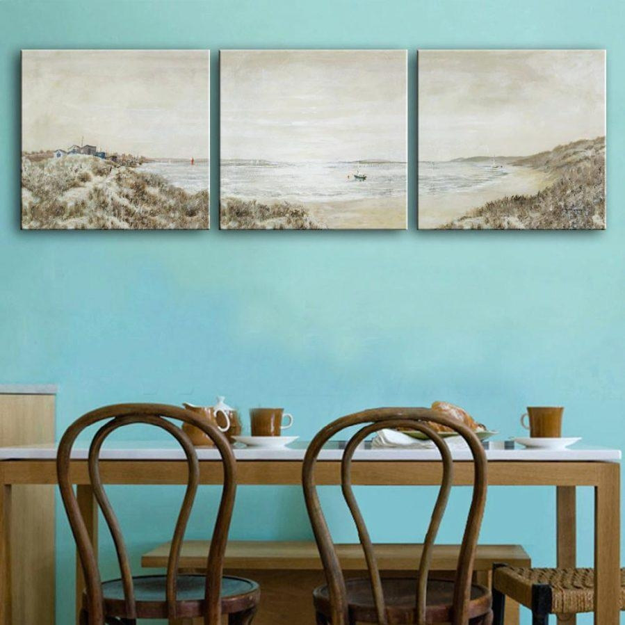 Wall Ideas : Coastal Wall Art Sets Giclee Print Art Abstract With Coastal Wall Art Canvas (Image 19 of 20)