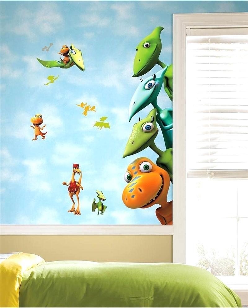 Wall Ideas : Dinosaur Wall Art Pottery Barn Dinosaur Wall Art Inside Dinosaur Wall Art For Kids (Image 18 of 20)