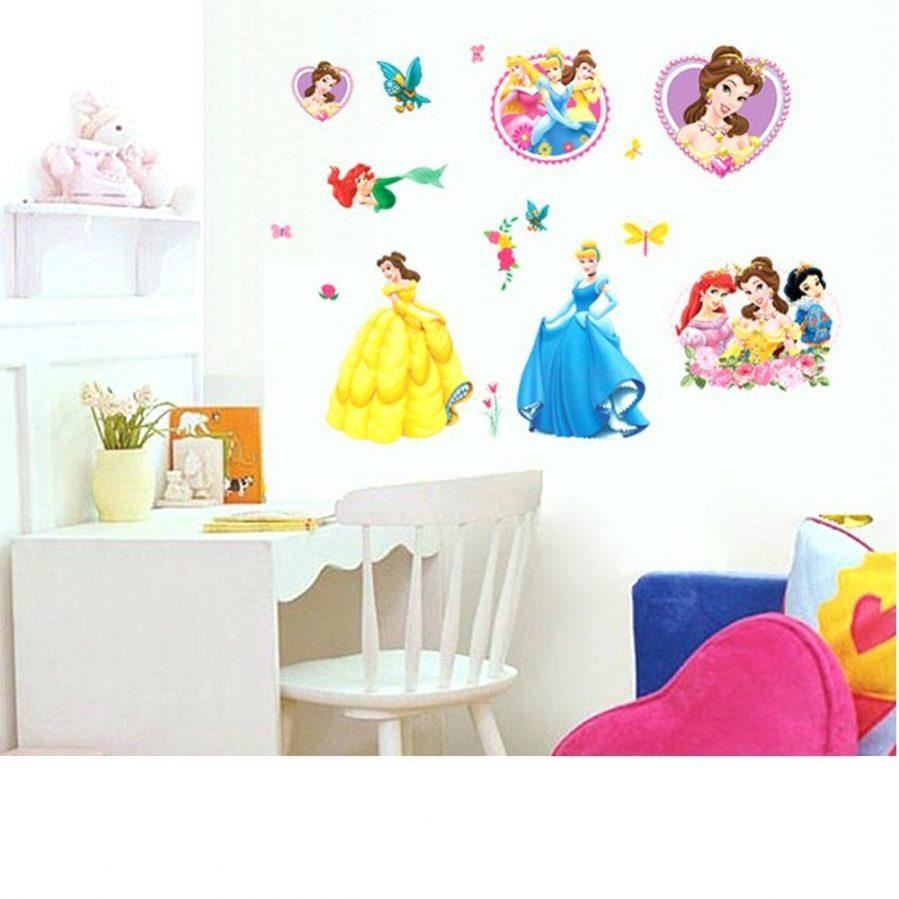 Wall Ideas : Disney Princess Foam Wall Decorations Disney Princess Intended For Princess Canvas Wall Art (Image 17 of 20)